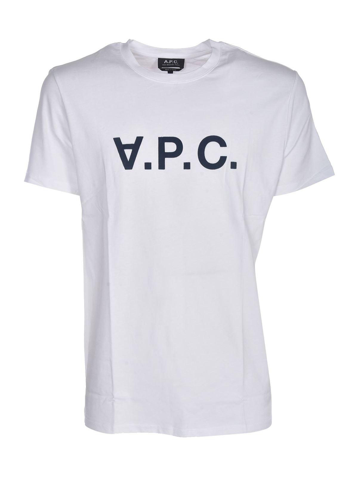 A.p.c. APC T-SHIRT IN WHITE