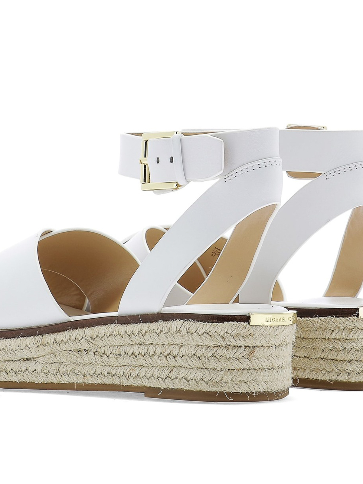 Sandali bianchi donna michael kors, Collezione estate 2020