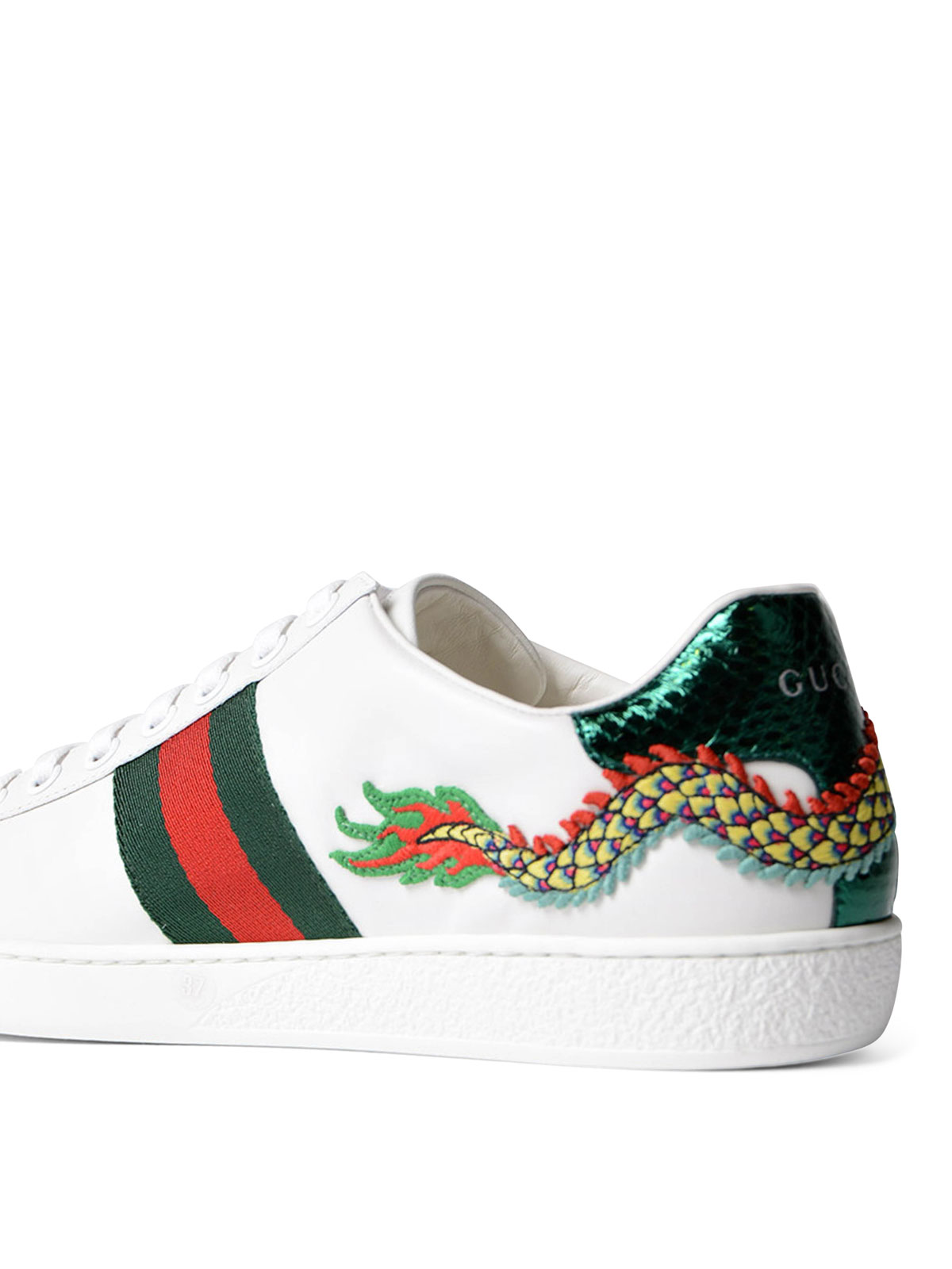 d0833e7971b Gucci - Ace embroidered low top sneakers - trainers - 475221A38G09064