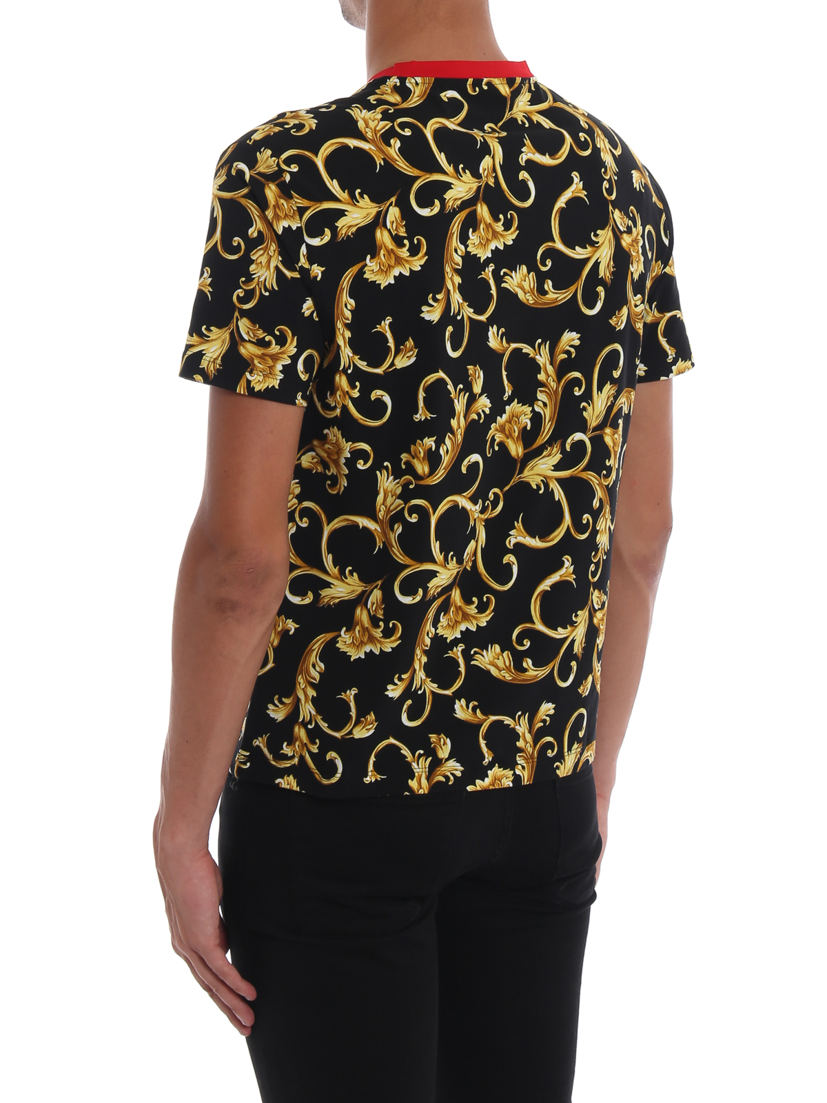 8d3d311d Versace - Acid Baroque print cotton T-shirt - t-shirts ...