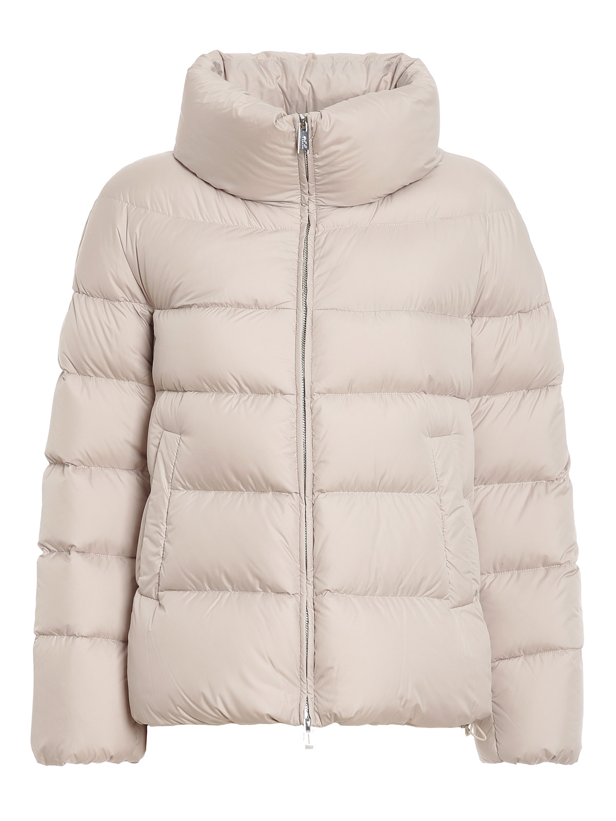 Add BEIGE QUILTED PUFFER JACKET