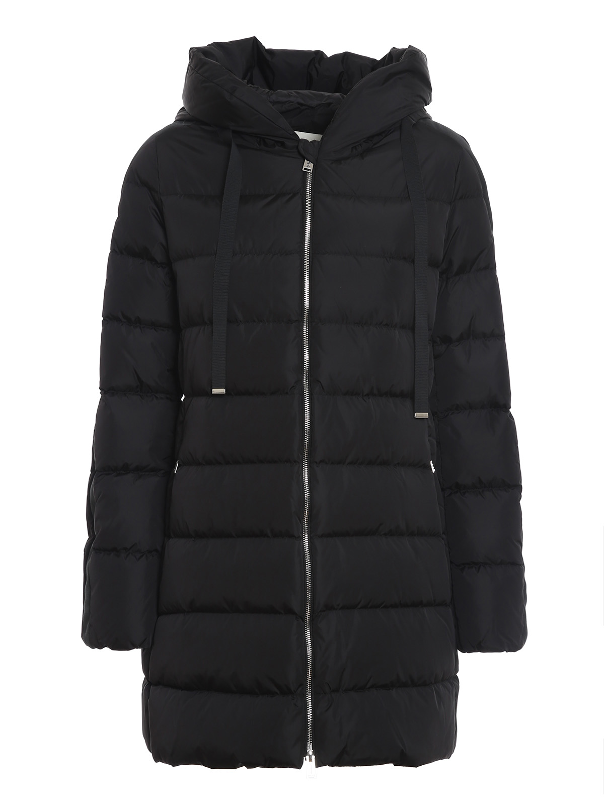 Add MATT EFFECT BLACK PUFFER JACKET