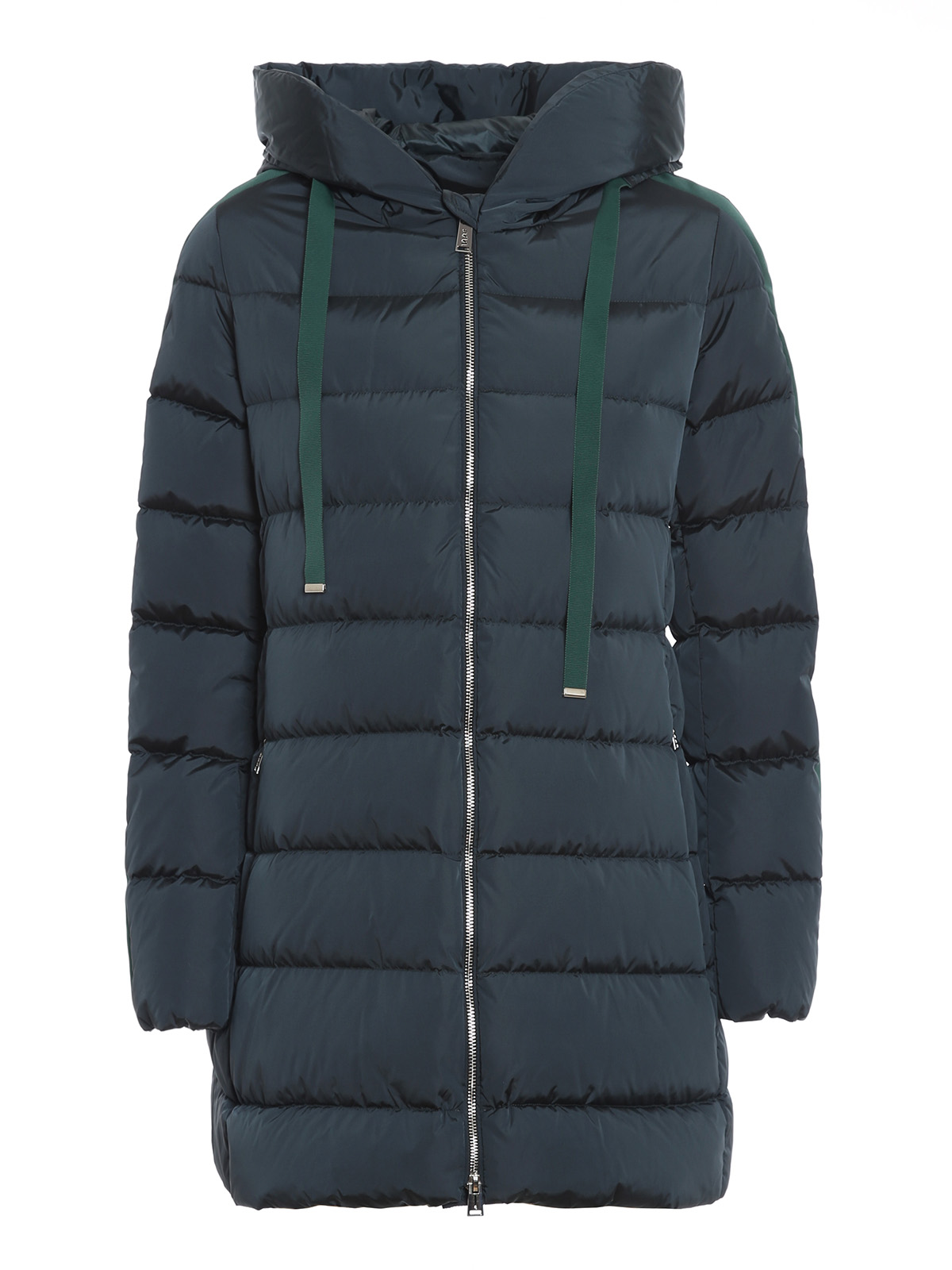 Add MATT EFFECT GREEN PUFFER JACKET