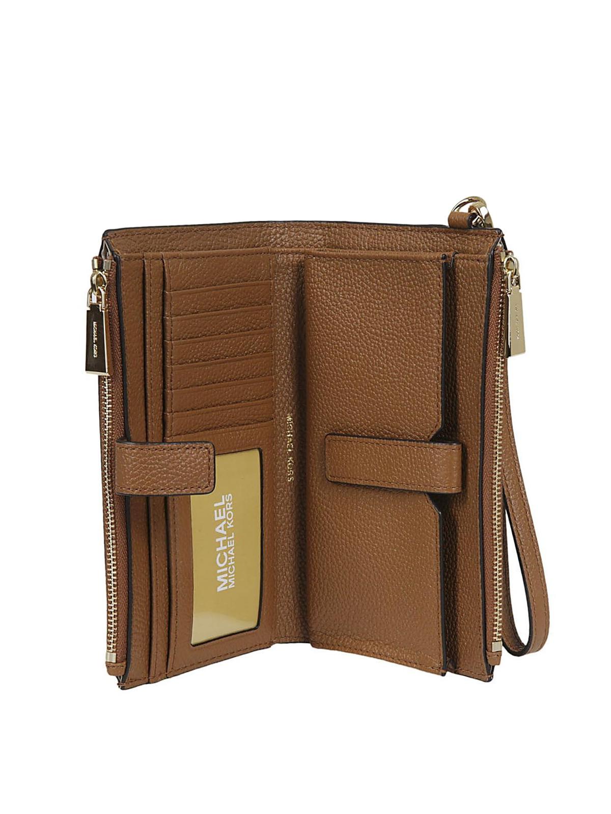 863eb9788ce5 Adele acorn double zip wallet shop online  MICHAEL KORS. MICHAEL KORS   wallets   purses ...
