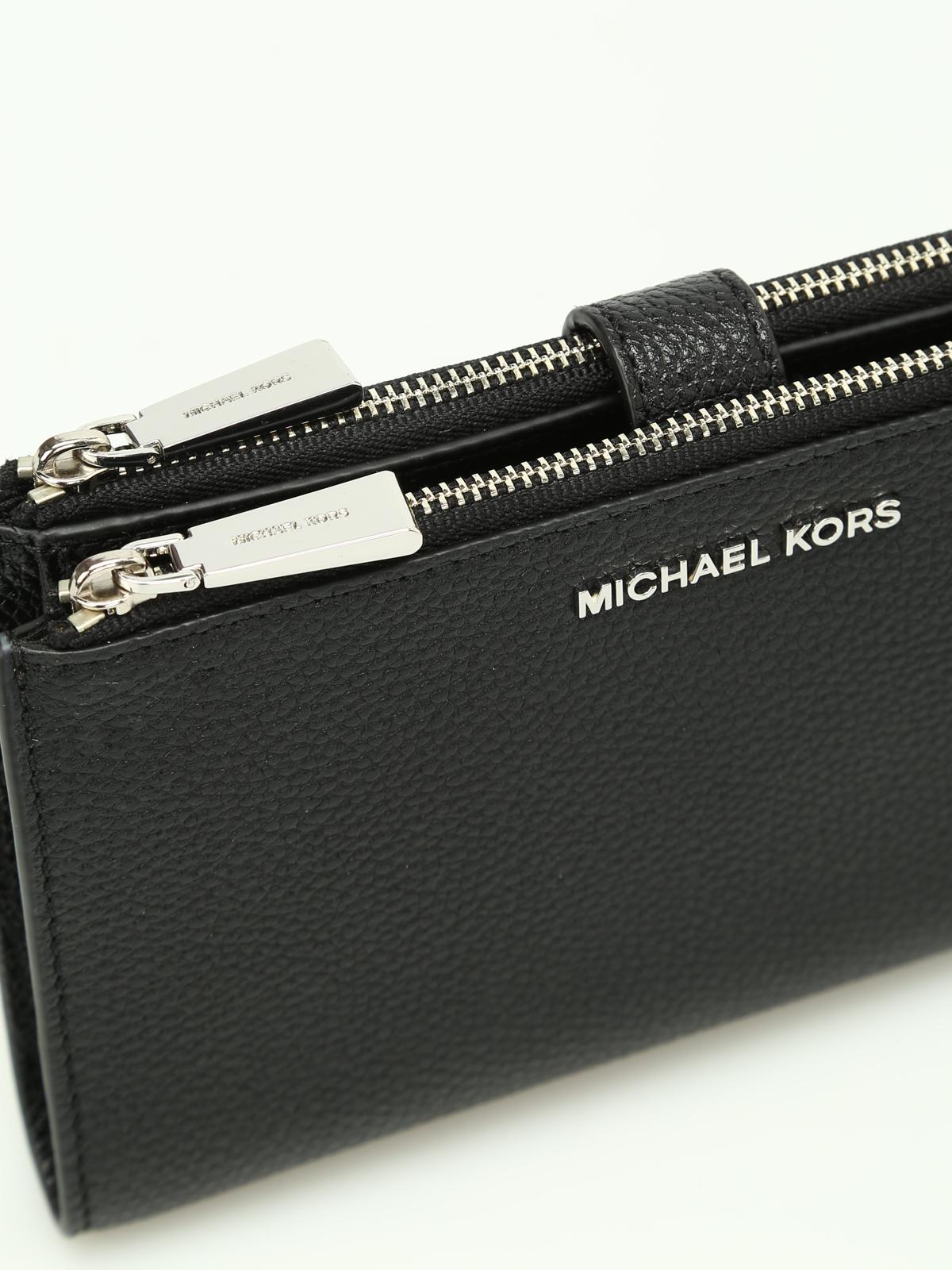 acquisto economico 095af 7a5ca Michael Kors - Portafoglio Adele nero - portafogli ...