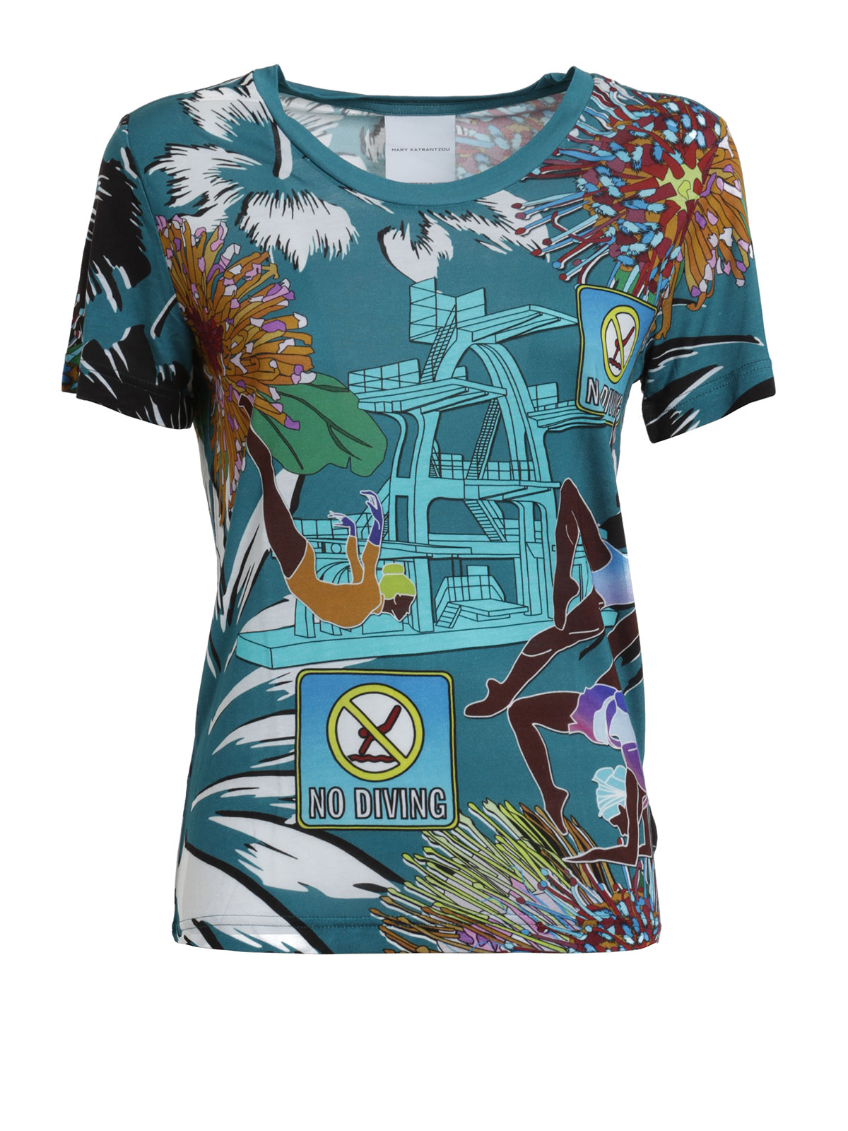 SHIRTS - Shirts Mary Katrantzou 100% Guaranteed Cheap Online Very Cheap Online C4bcq1To