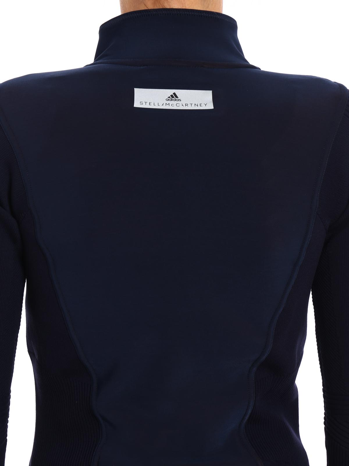 eae2b9a93040c Adidas by Stella McCartney - Run Knit zip track jacket - Sweatshirts ...