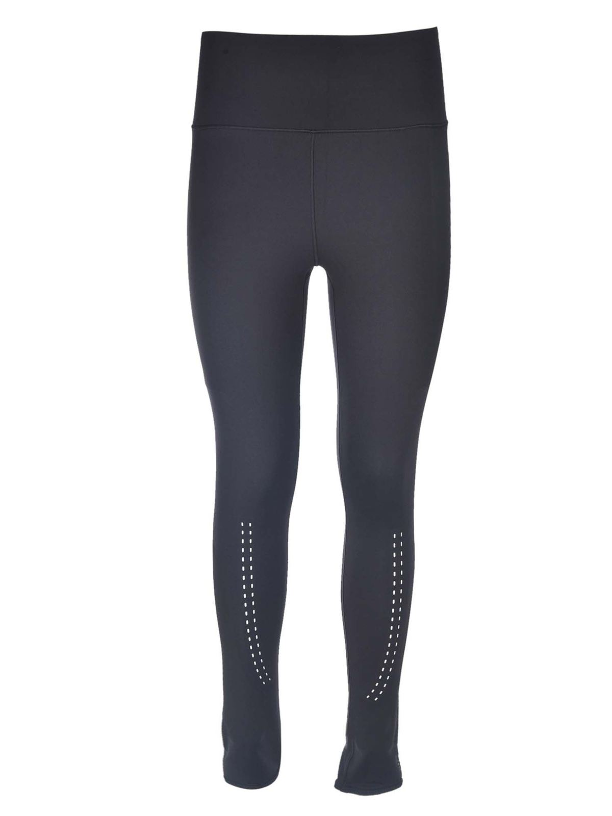 Adidas By Stella Mccartney Tight Support Core Leggings In Black