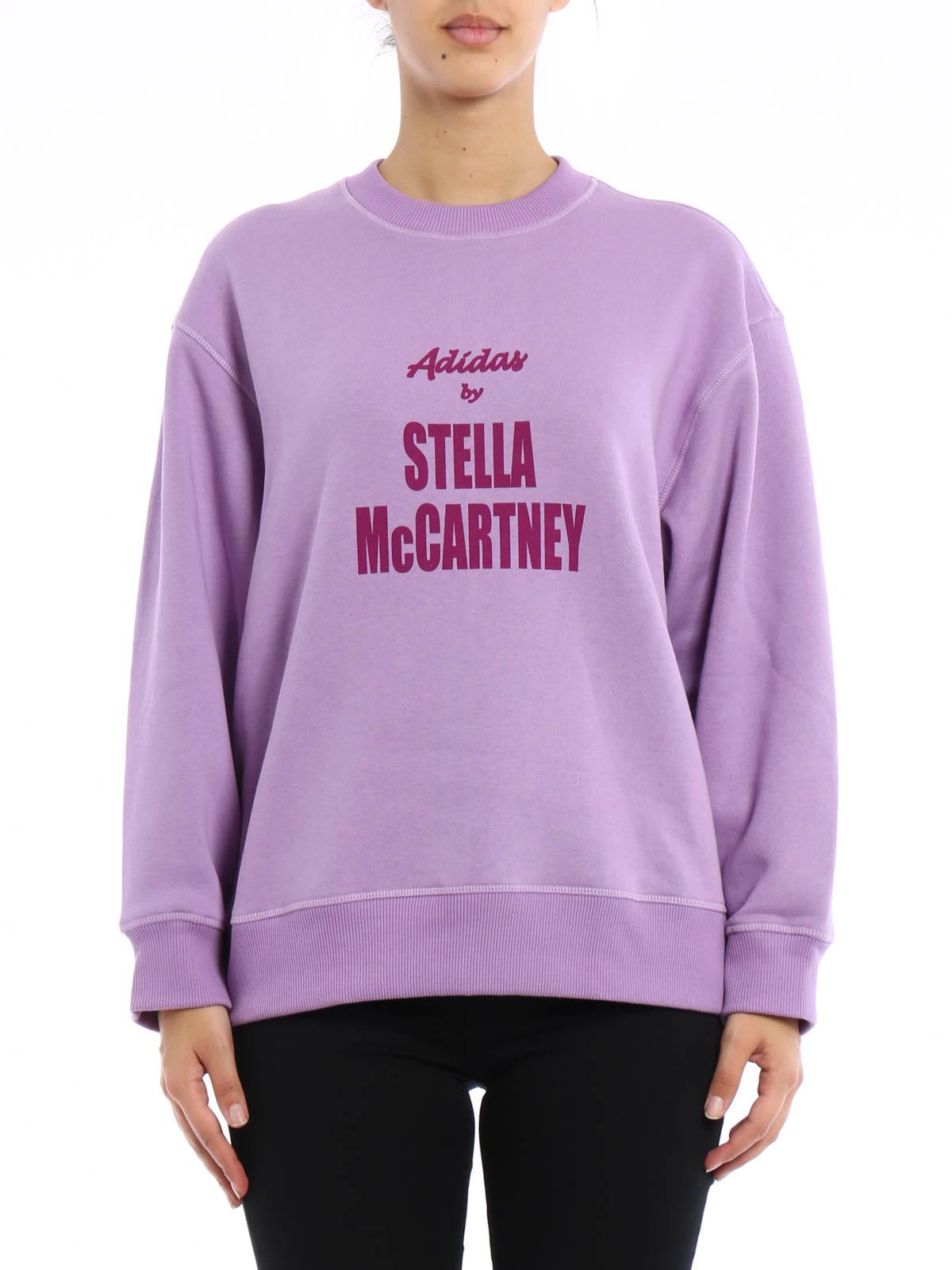 Adidas Over Mccartney Print Stella Sweatshirt By Logo rZgCrT