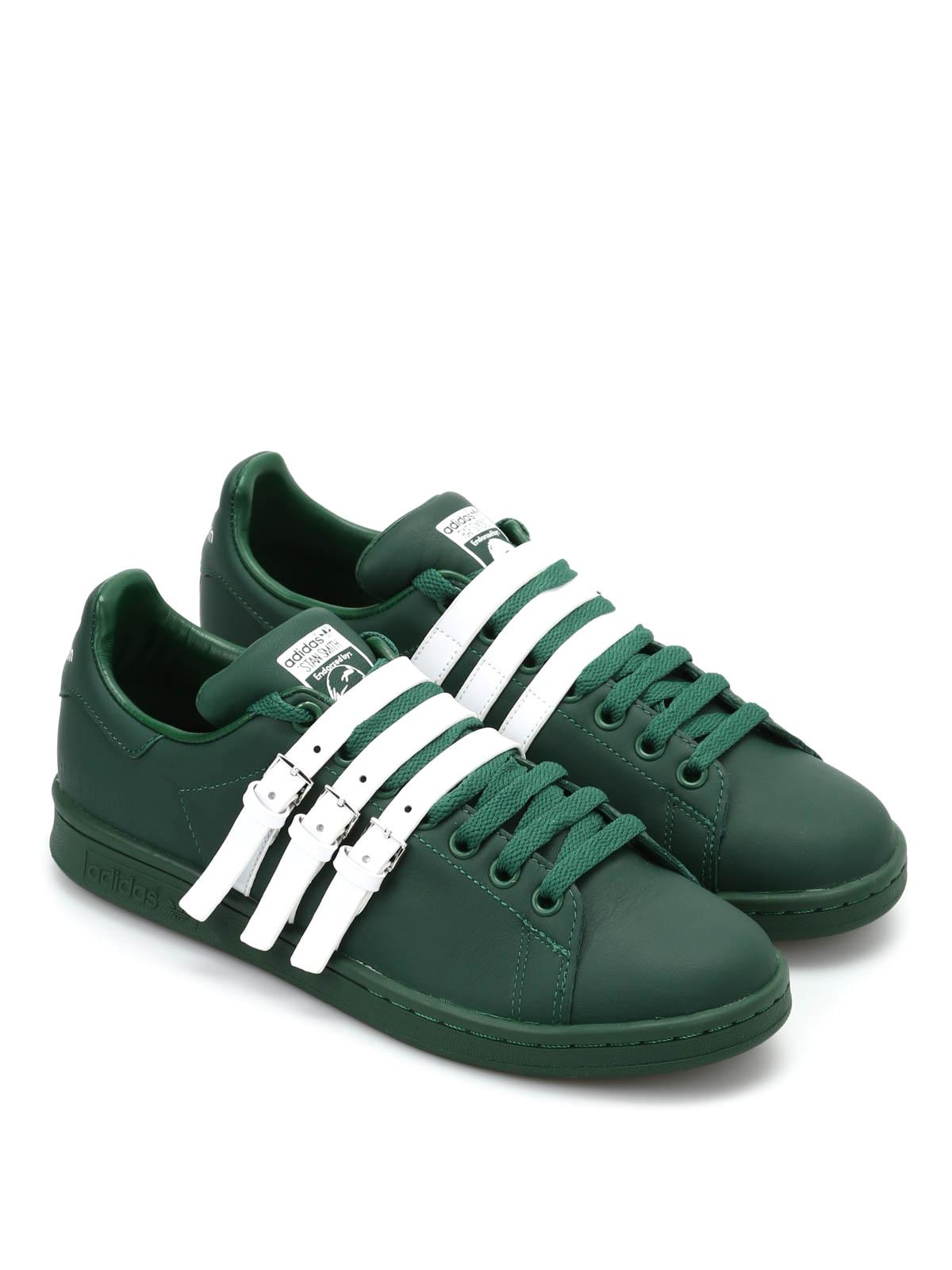Adidas Originals - Raf Simons Stan Smith Strap - trainers ...