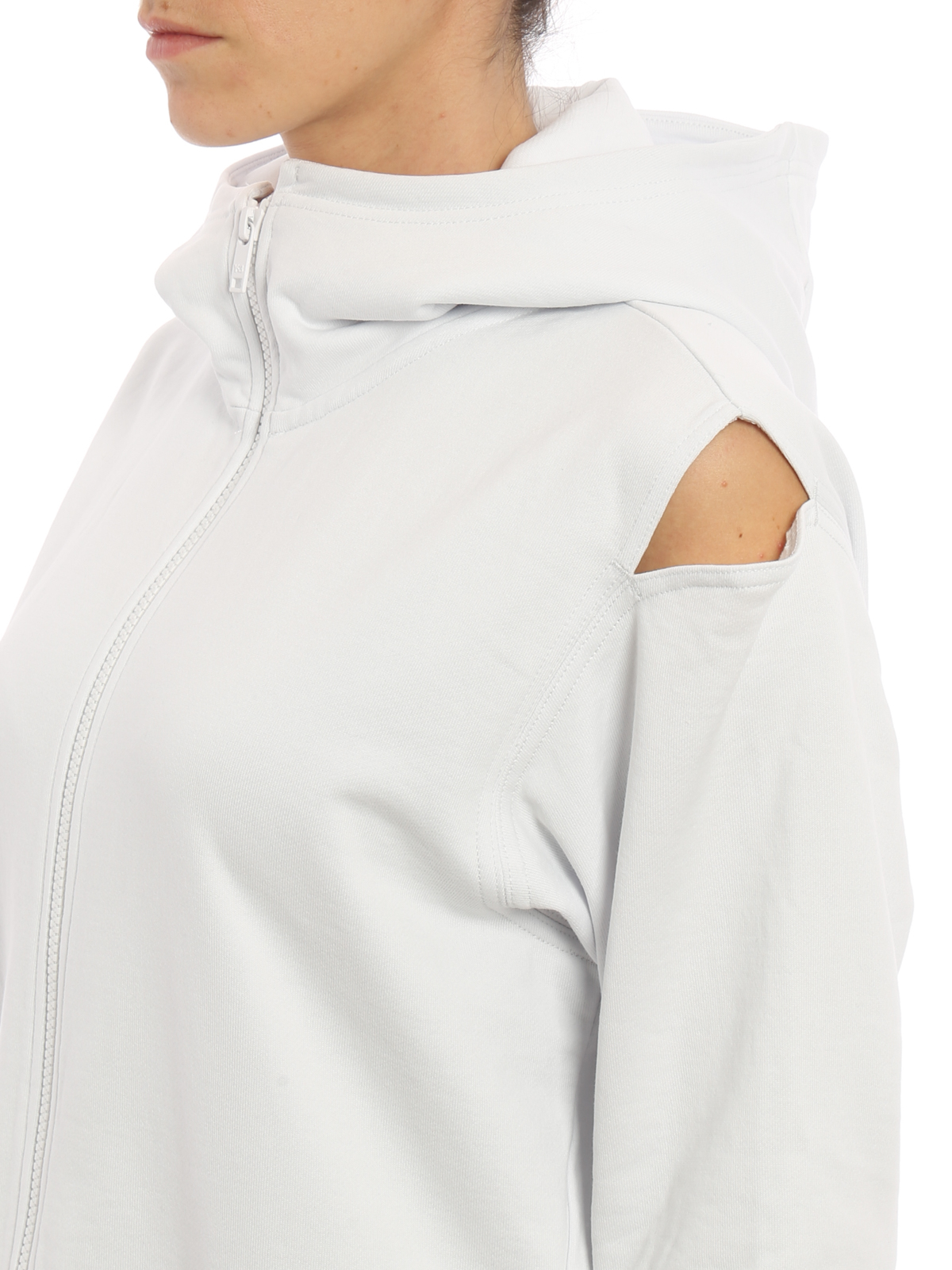 new products e8459 7843b ADIDAS Y-3 buy online Cotton cocoon oversize hoodie