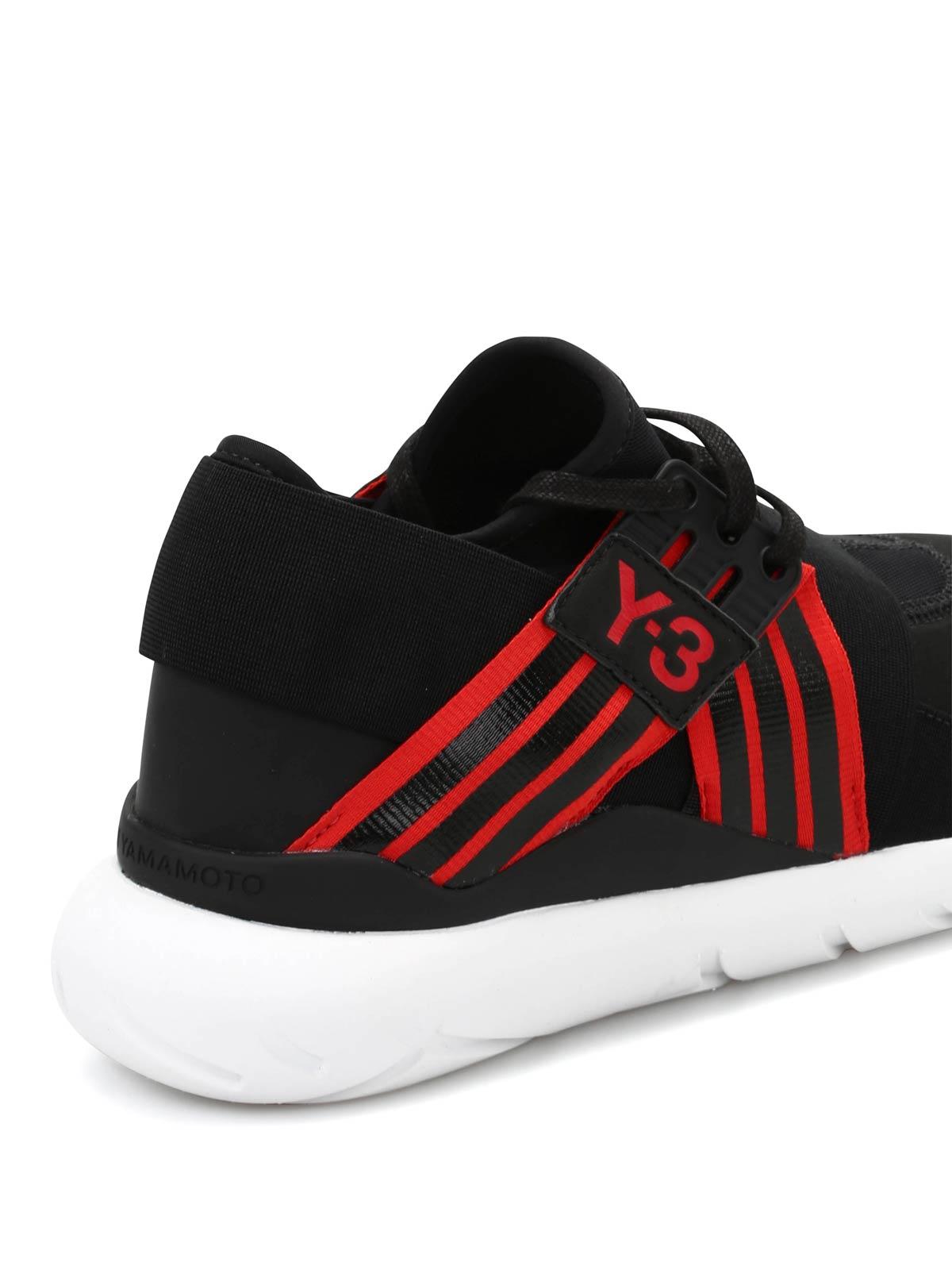 ca25cfb7bd842 Adidas Y-3 - Y-3 Qasa Elle Lace sneakers - trainers ...