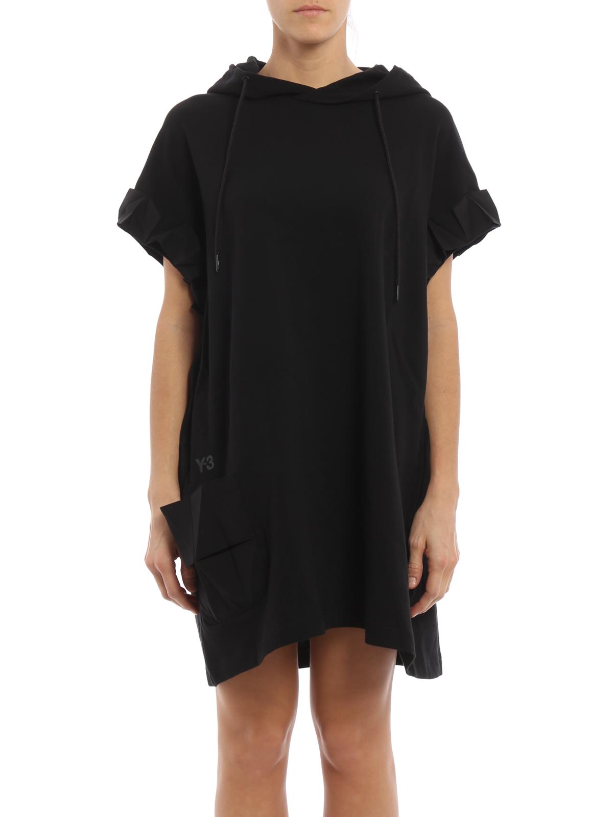 Mes Polinizar Fácil de leer  Adidas Y-3 - Vestido Corto Negro - Vestidos cortos - BR3460WFCRAFTDRESS