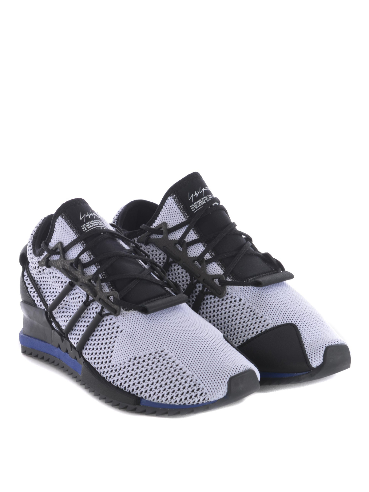 fcffd3a1839a5e ADIDAS Y-3  trainers online - Harigane primeknit white sneakers