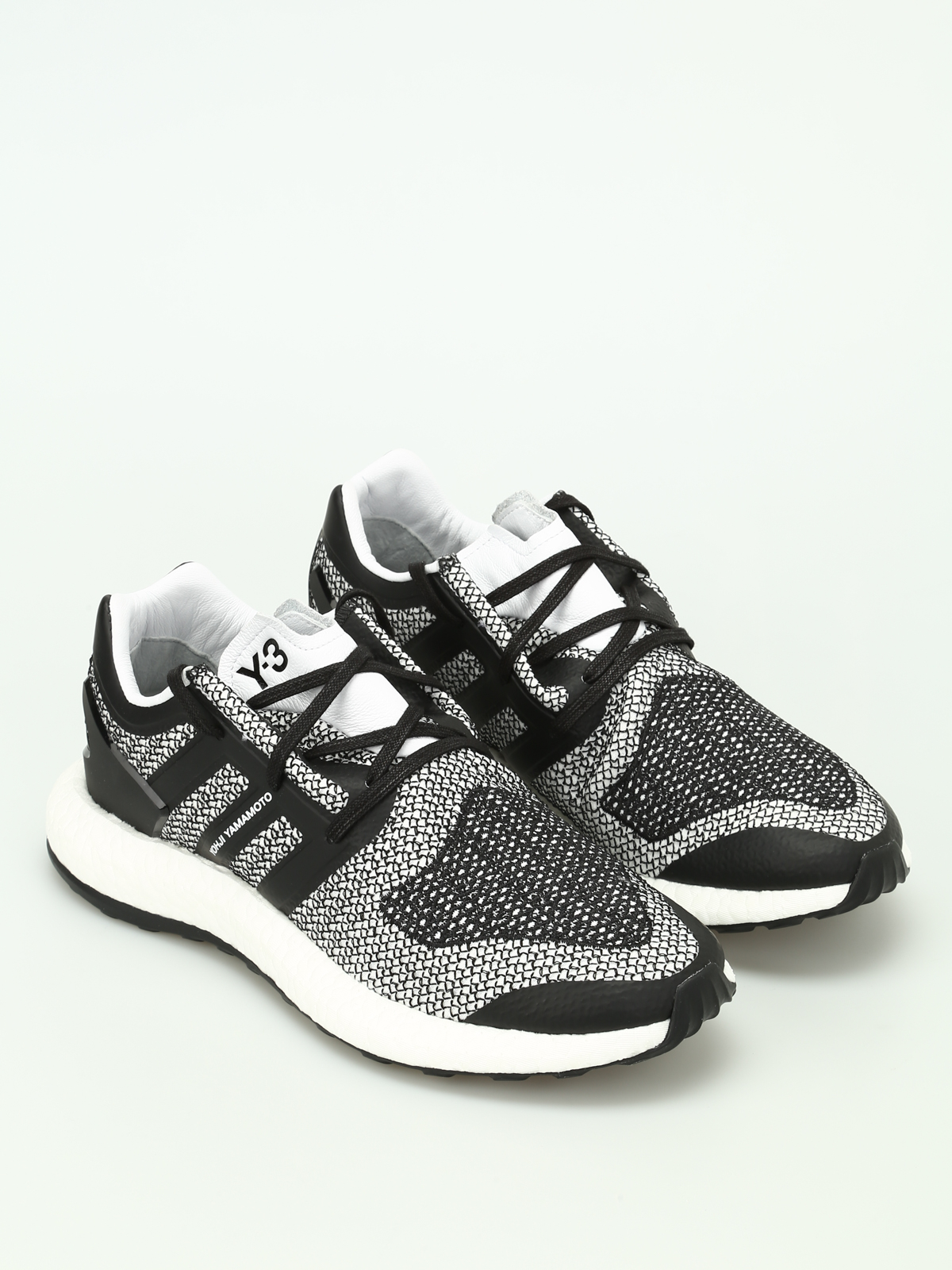 d5cc33ebf Adidas Y-3 - Pureboost mesh sneakers - trainers - CP9888