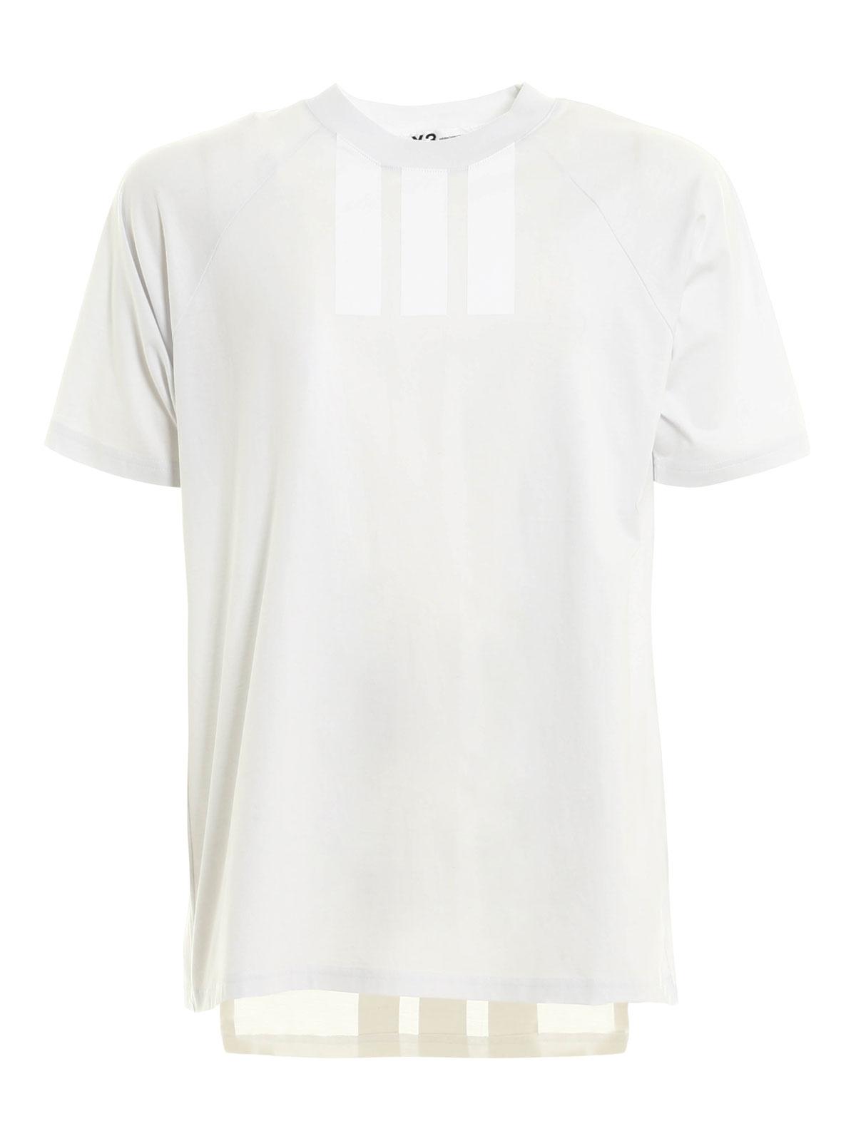 0655348694f8 Adidas Y-3 - Asymmetric T-shirt - t-shirts - AZ5791 3S