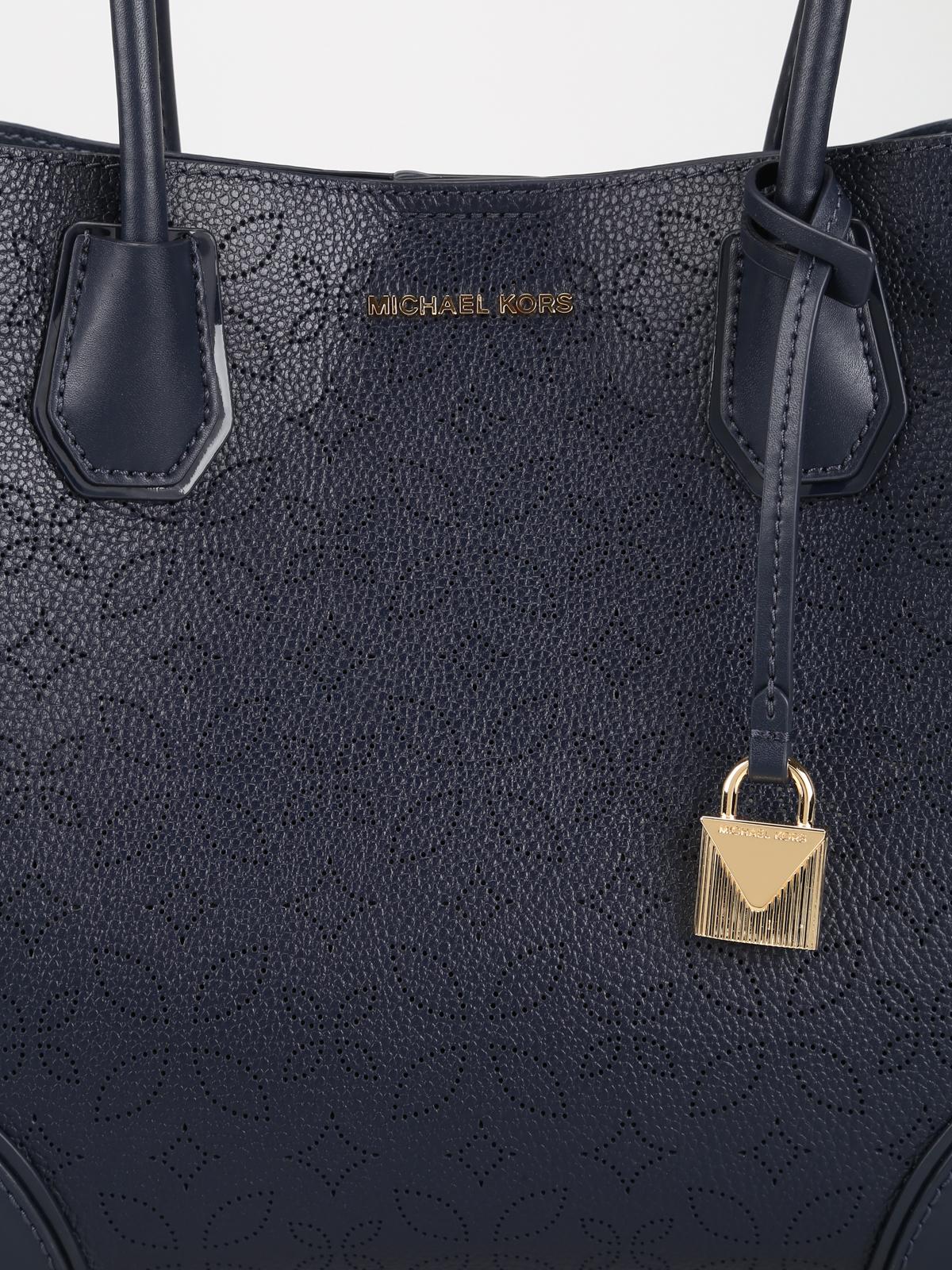 e0d8c90dd185 Michael Kors - Admiral blue Mercer Gallery medium bag - totes bags ...
