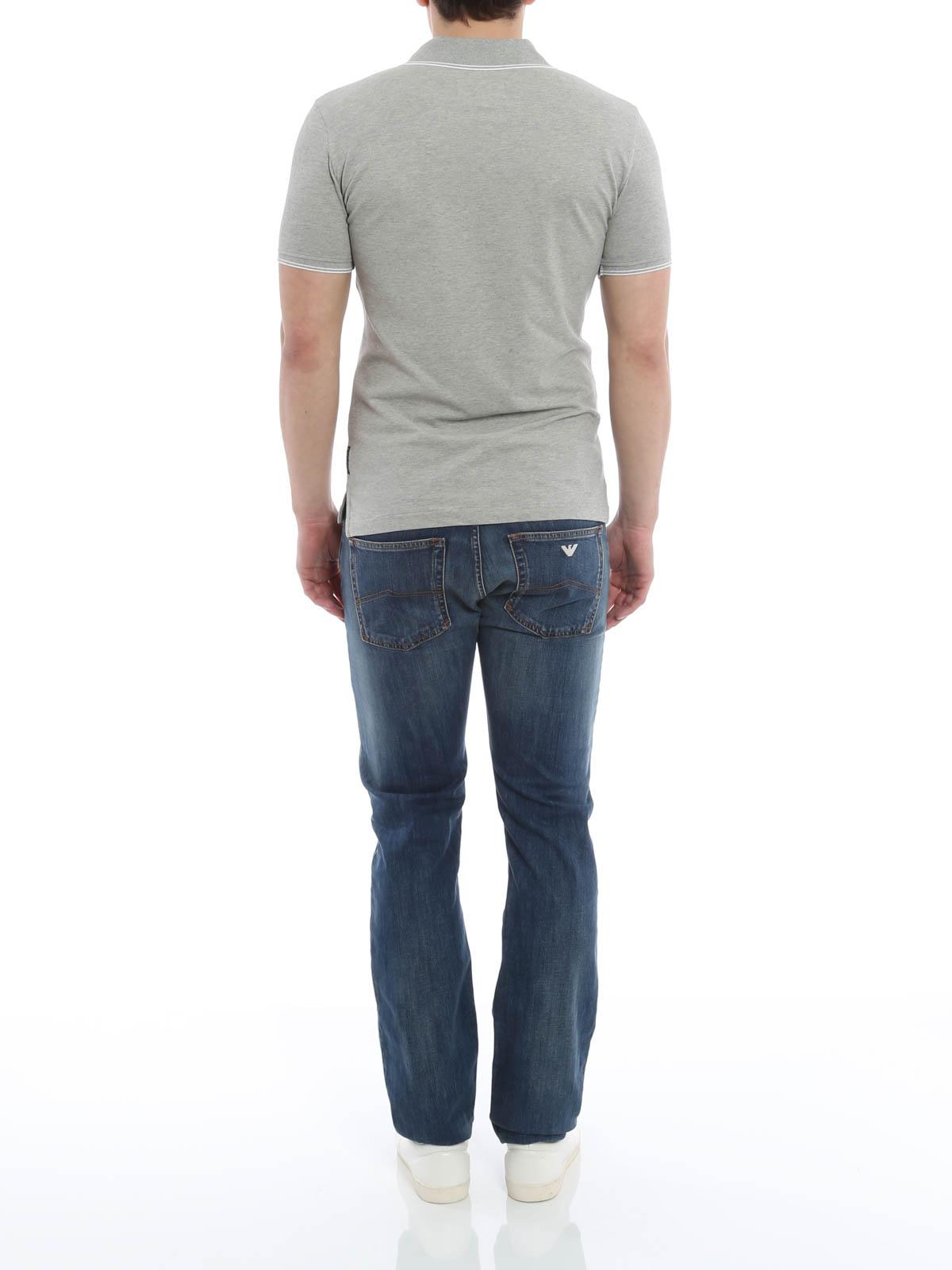 Aj Polo Shirt By Armani Jeans Polo Shirts Ikrix