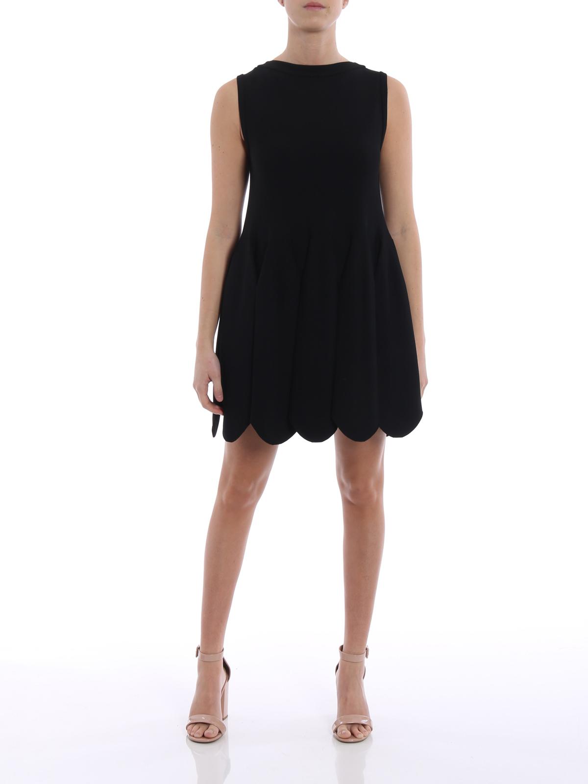 32be6727497 Alaïa: cocktail dresses online - Mermaid short black jersey dress