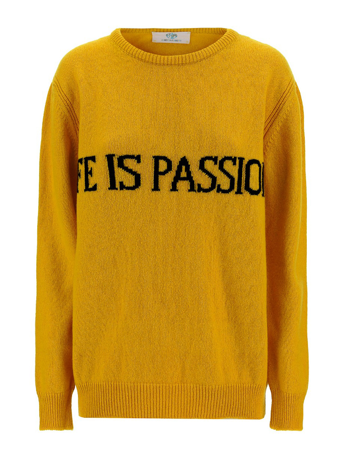 Alberta Ferretti LIFE IS PASSION CREWNECK