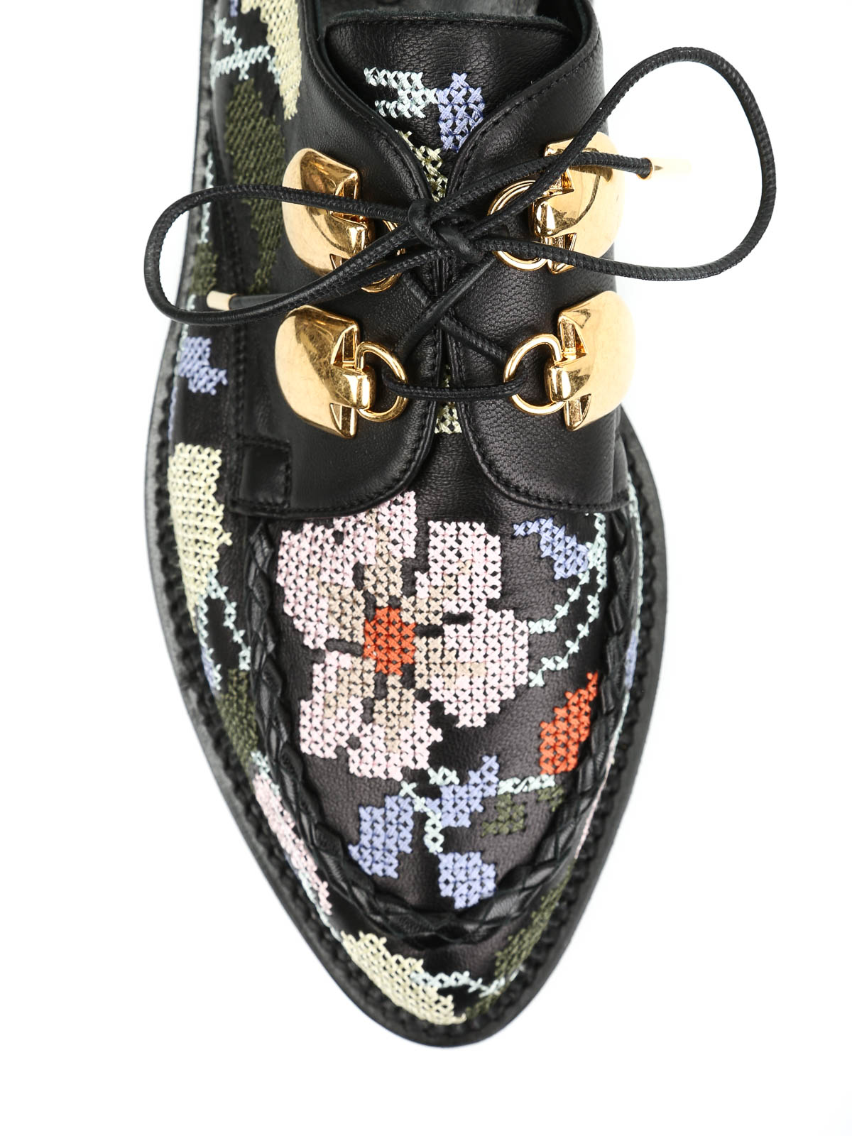 Alexander Mcqueen - Nappa embroidered