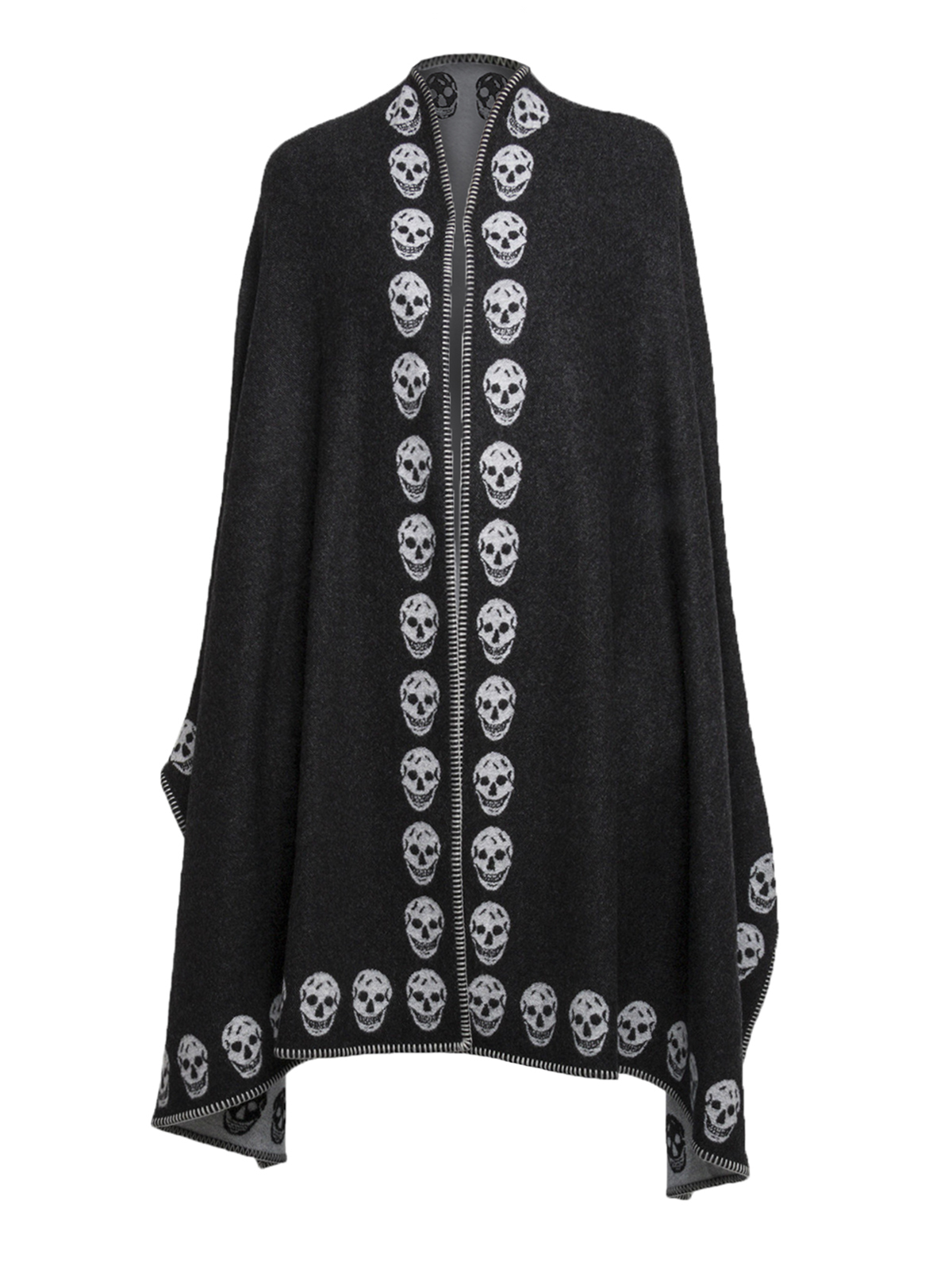 2018 New Cheap Price COATS & JACKETS - Capes & ponchos Alexander McQueen Buy Cheap For Cheap Discount 100% Authentic Get Online Latest Collections 5358xbyoW4