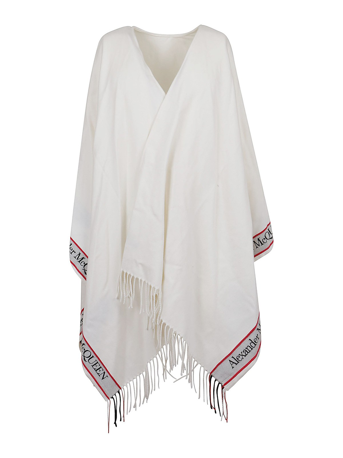 Alexander Mcqueen Capes FRINGED CAPE