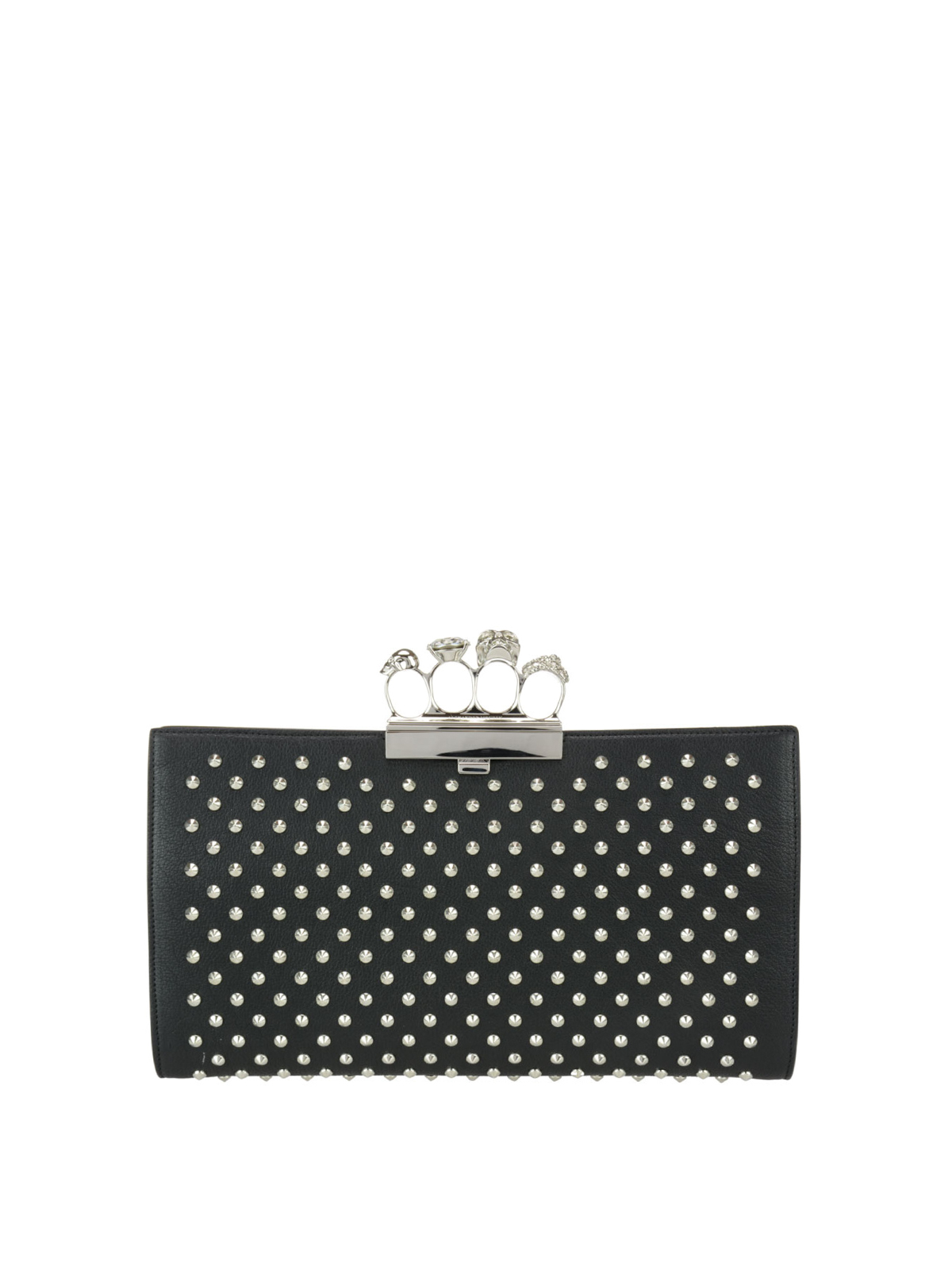 Knuckle clutch by Alexander Mcqueen - clutches | Shop ...