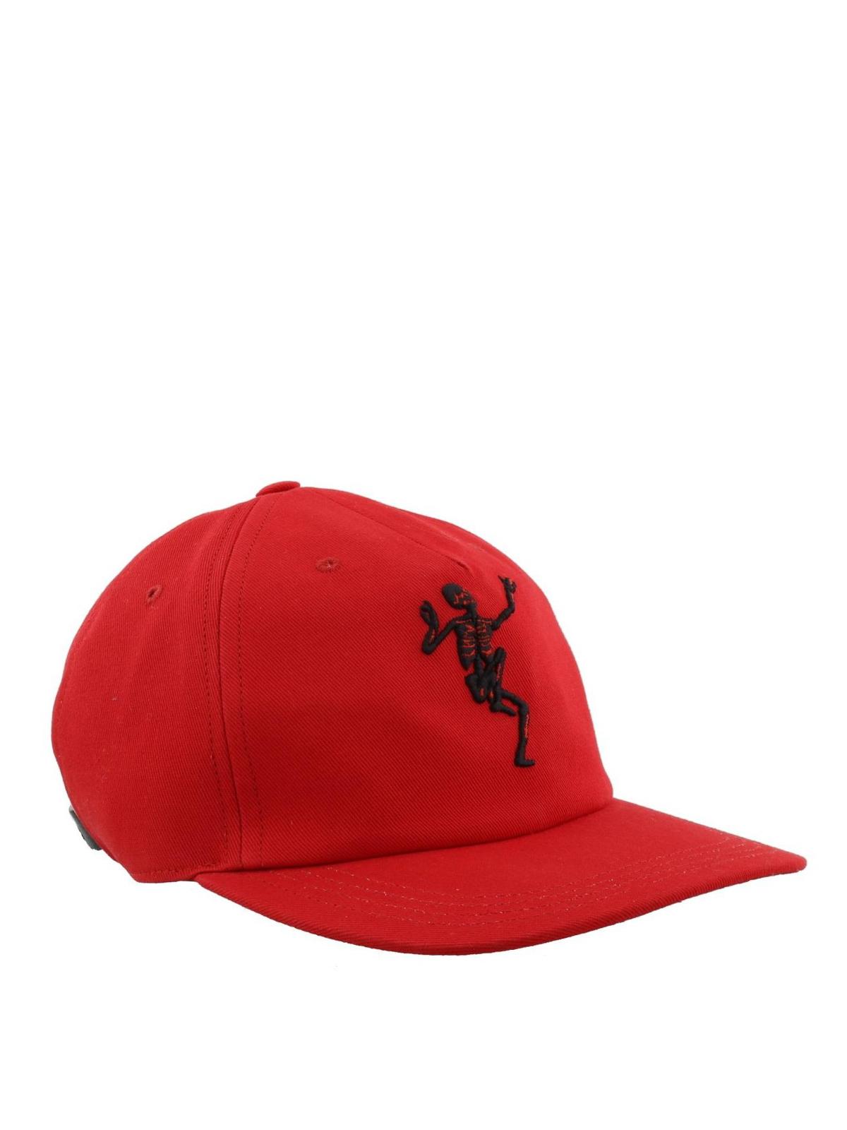 Alexander Mcqueen - Dancing Skeleton baseball cap - hats   caps ... ae9c3223b2e9