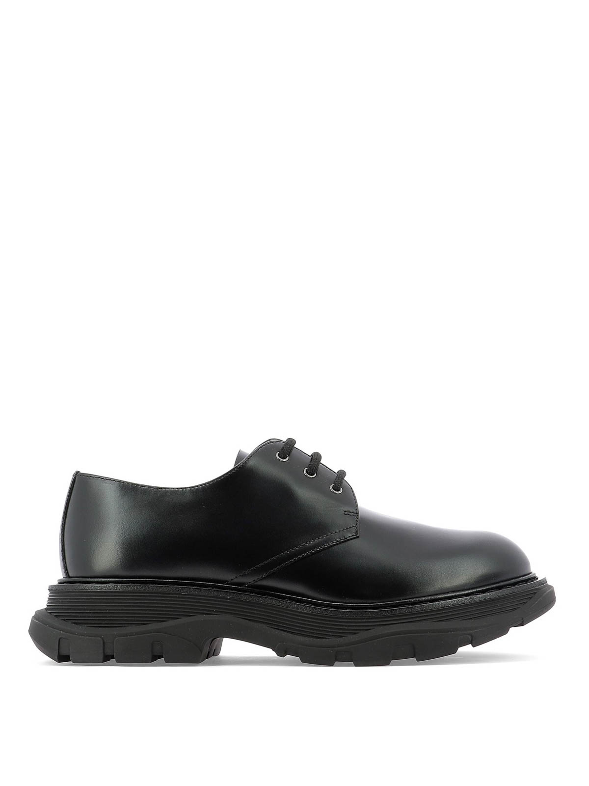 Alexander Mcqueen MAXI SOLE LEATHER DERBY SHOES
