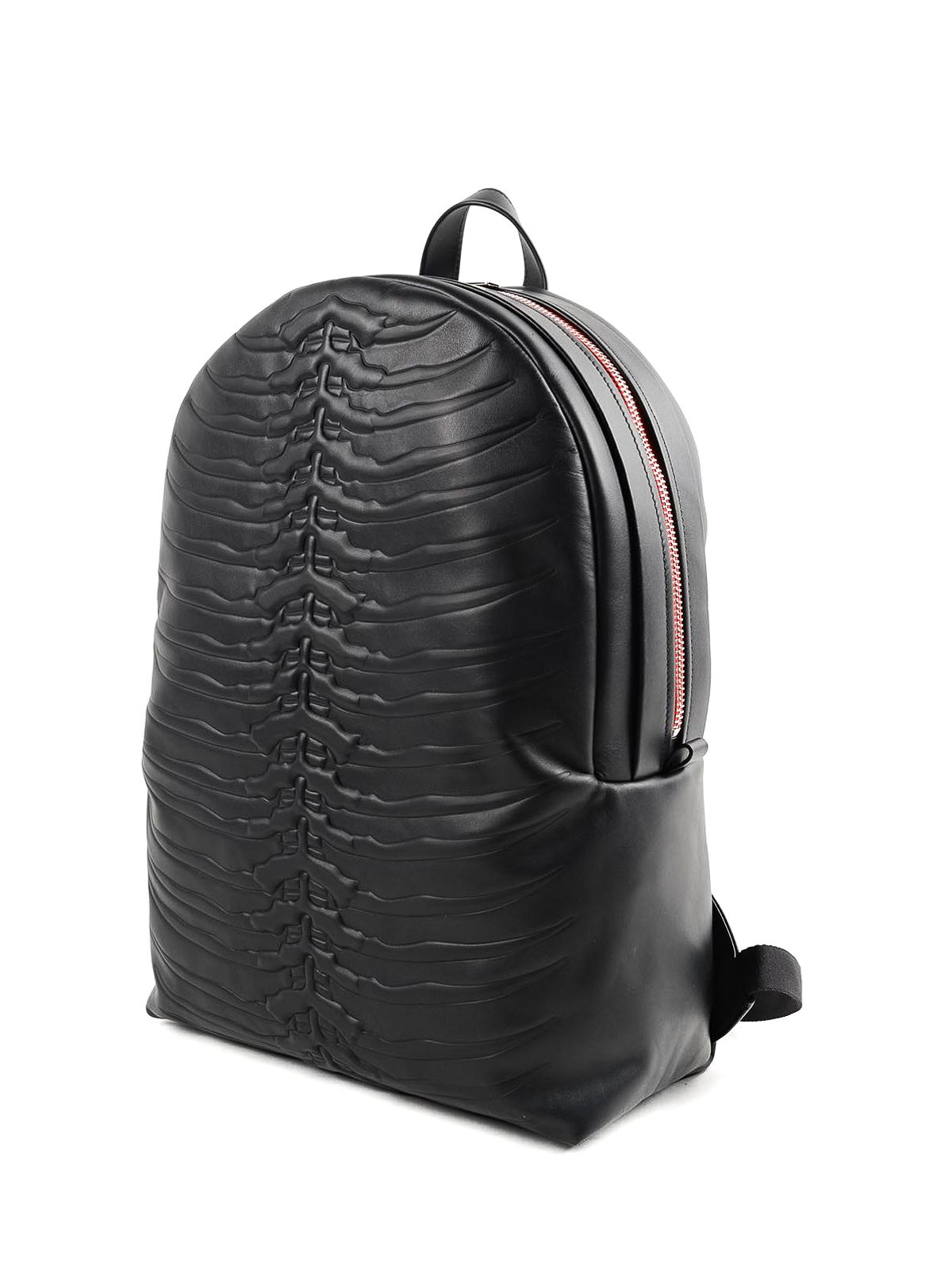 Children Boys Cool Backpacks Schoolbag Punk Skull Printed