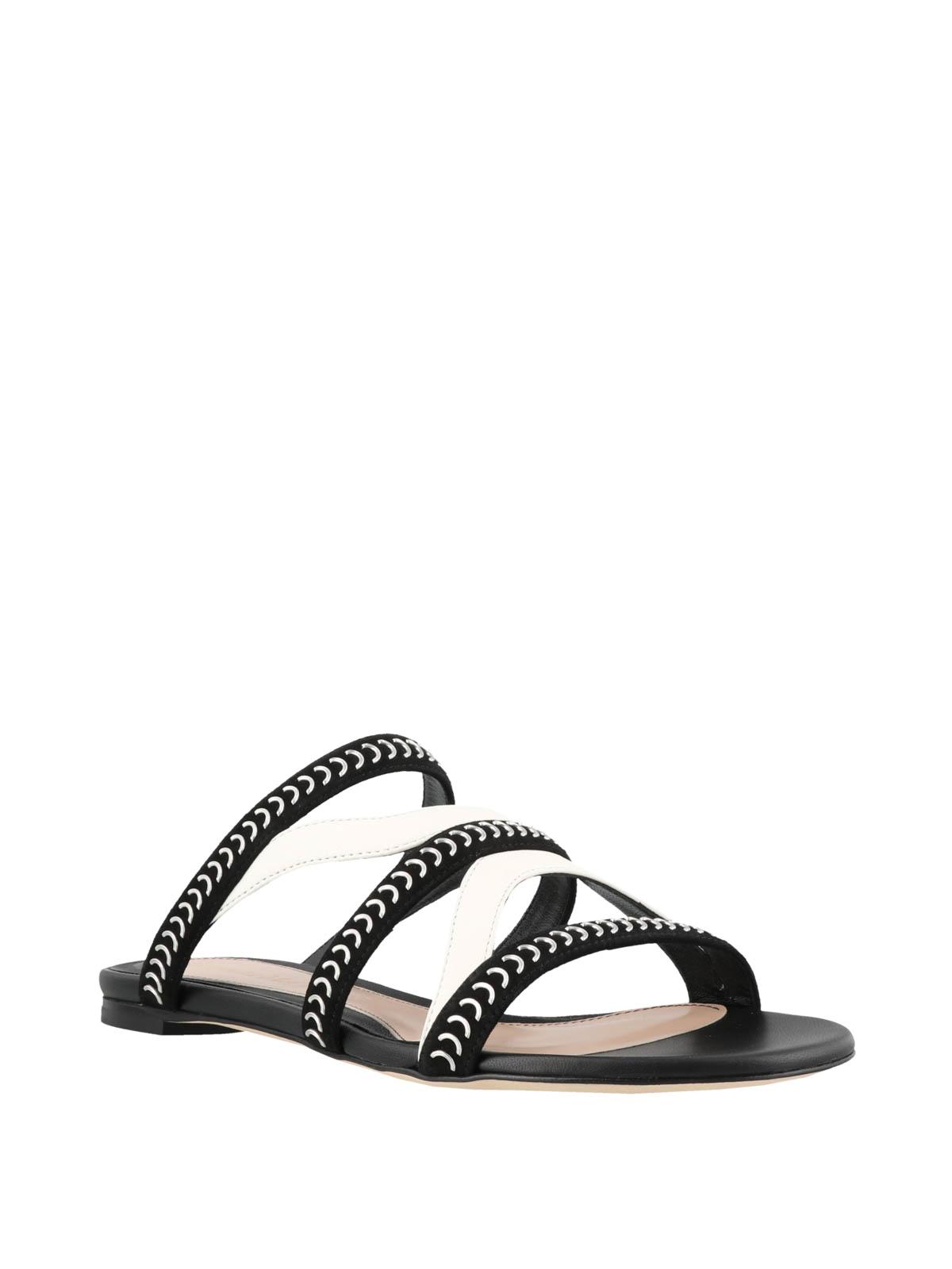 alexander mcqueen flat sandals
