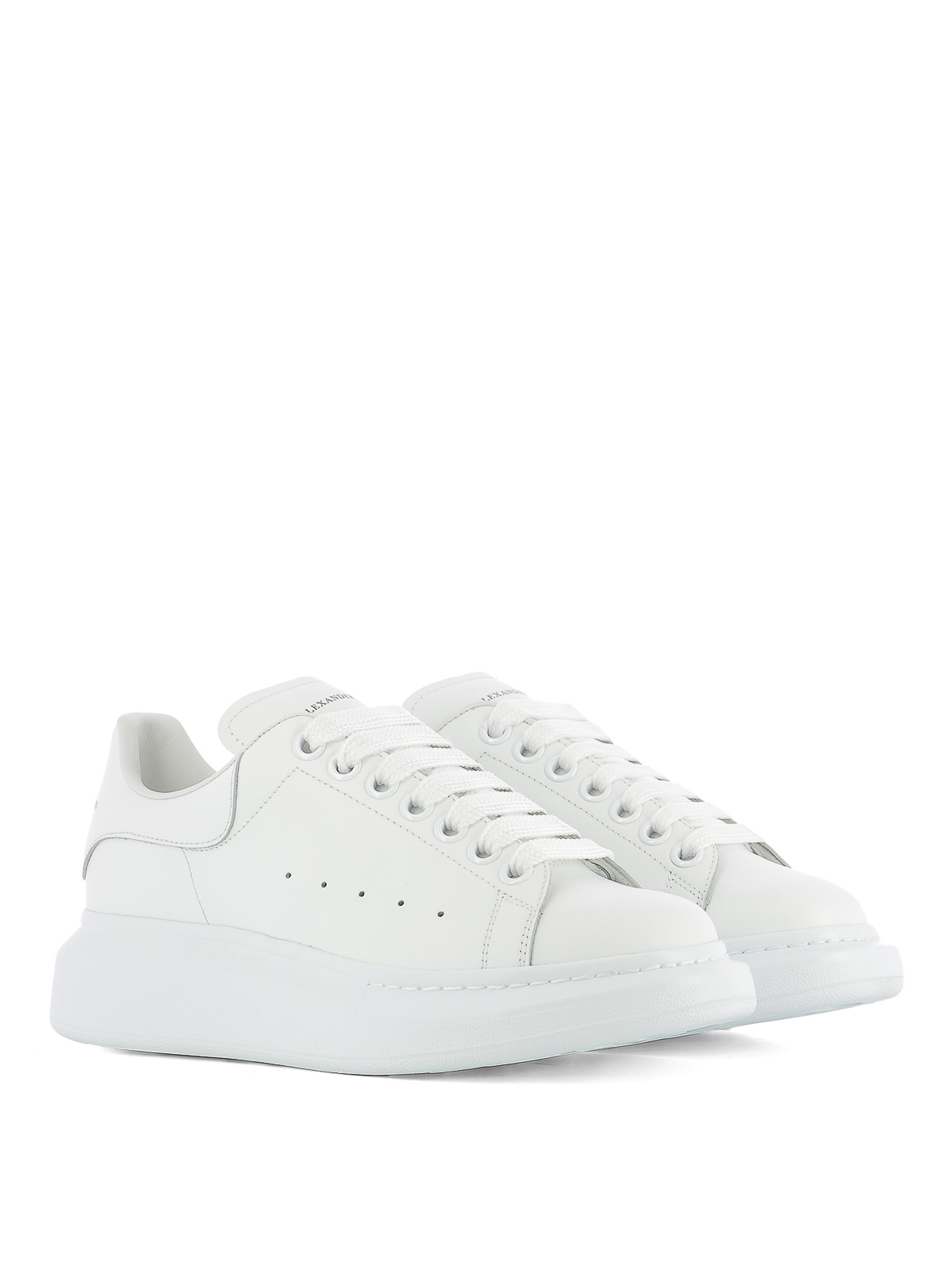 e6a9e53c7afe ALEXANDER MCQUEEN  trainers online - Chunky sole leather sneakers