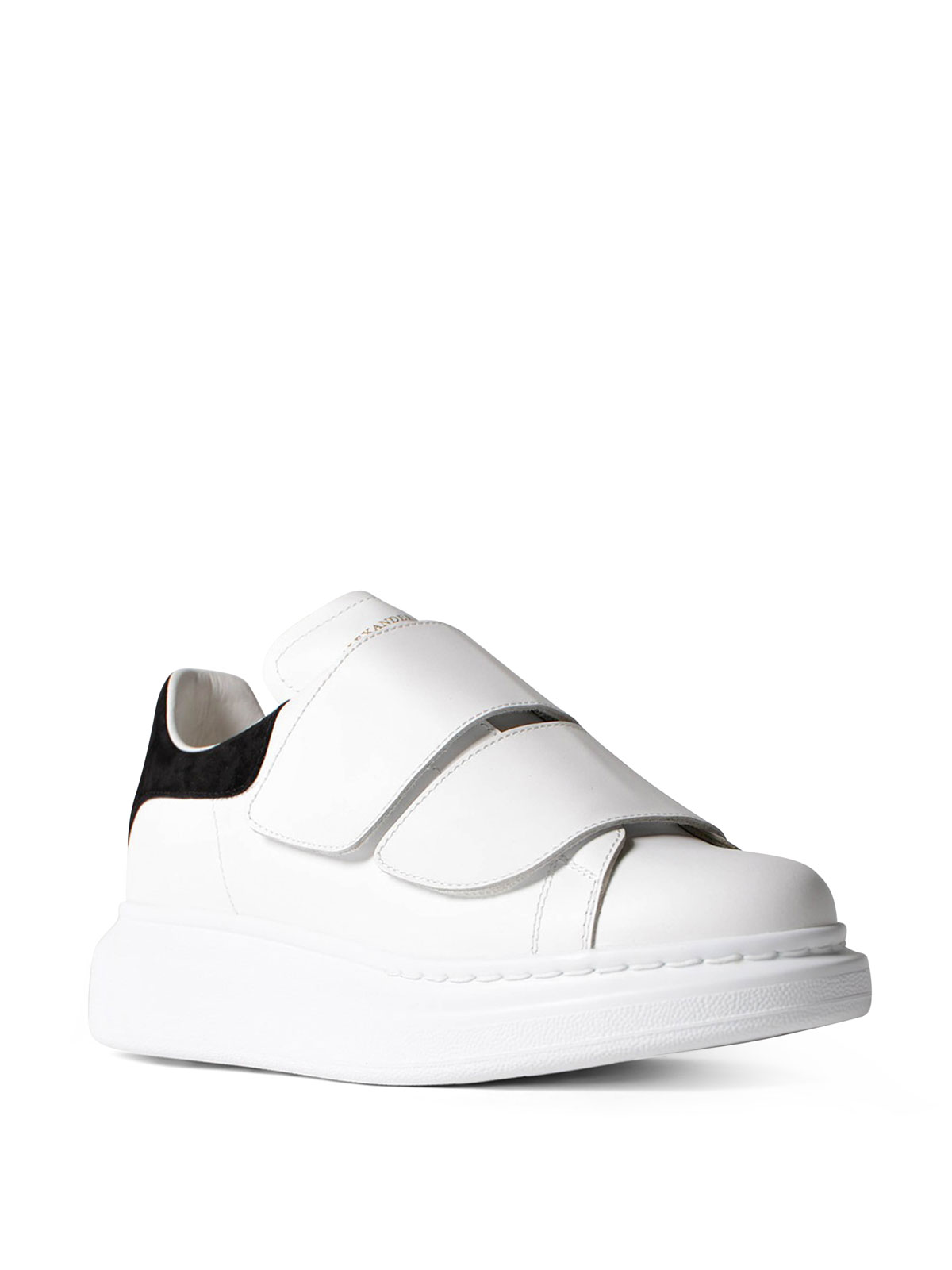 best sneakers cheapest price new lower prices Alexander Mcqueen - Oversize velcro straps sneakers - trainers ...