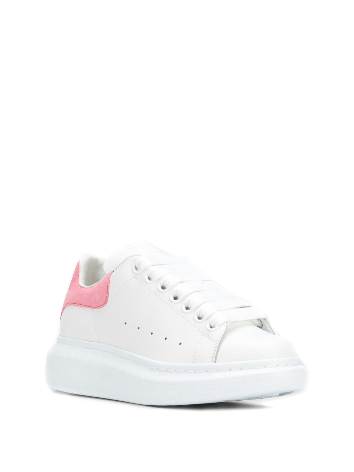 62a7a7b966d1 ALEXANDER MCQUEEN  trainers online - Oversized pink back white sneakers