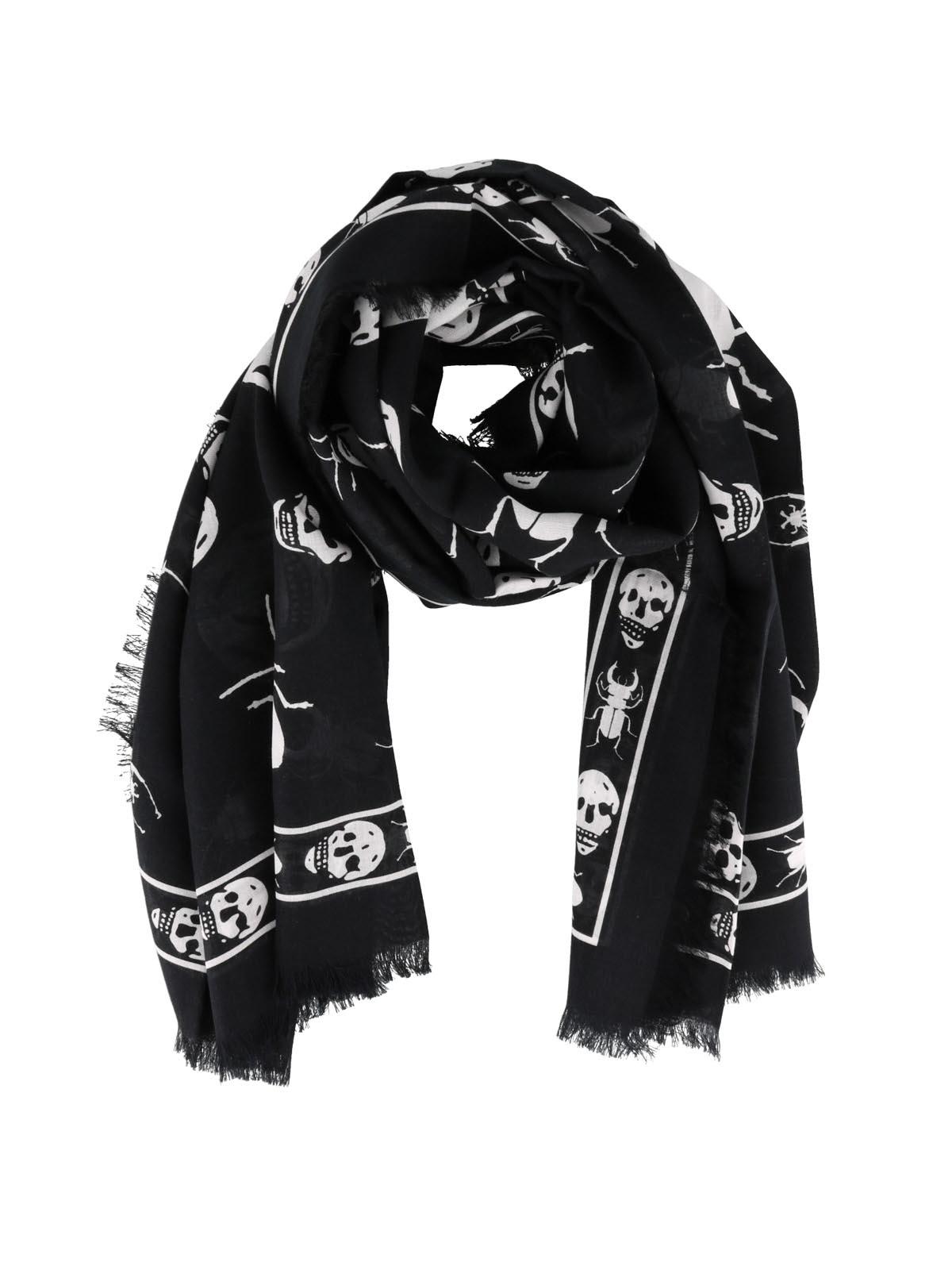 site réputé Style classique rechercher le meilleur Alexander Mcqueen - Écharpe - Skull - Écharpes - 5749124A33Q1078