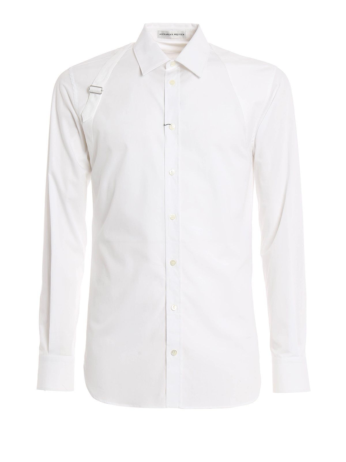 Harness detailed shirt by alexander mcqueen shirts ikrix for Alexander mcqueen shirt men