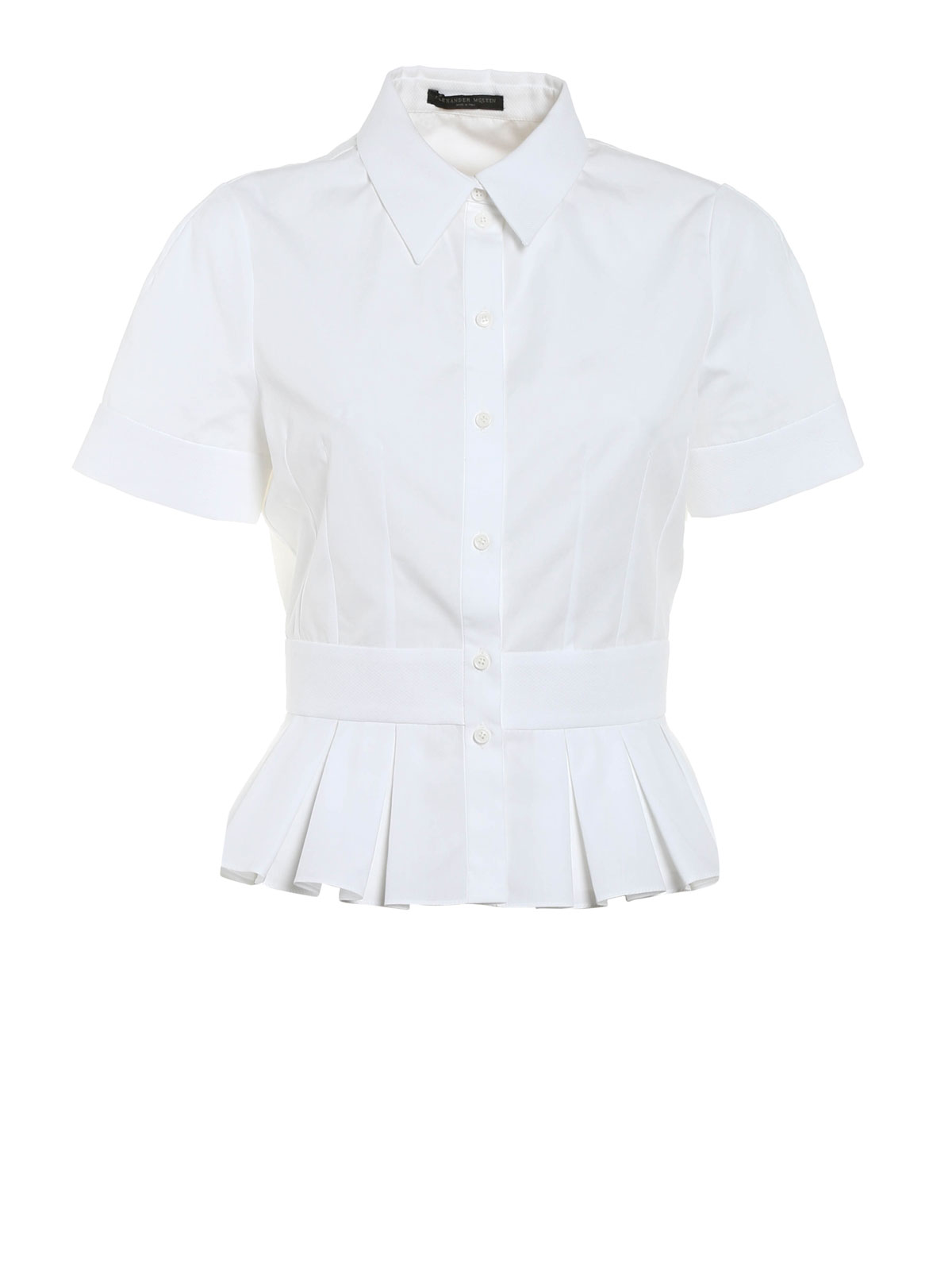 Extremely For Sale peplum blouse - White Alexander McQueen Buy Online Authentic Buy Cheap Footlocker Finishline xCPWbugvg