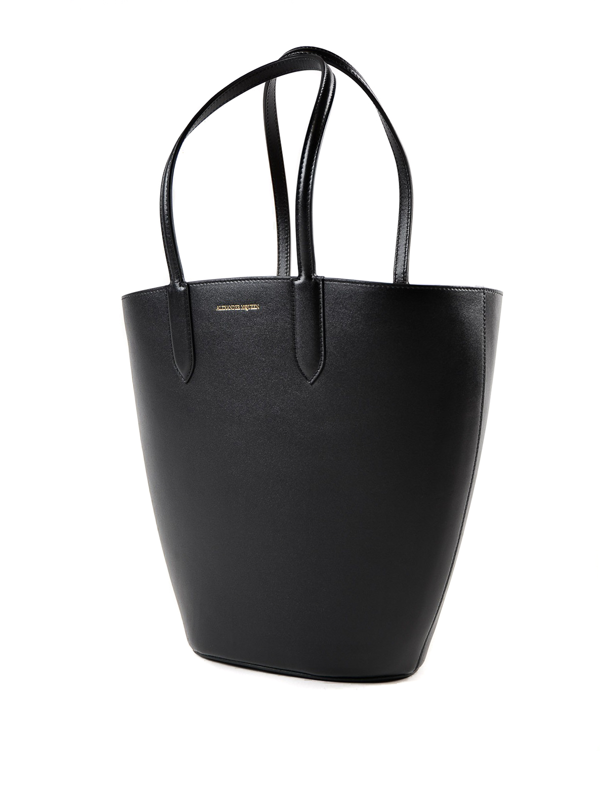Alexander McQueen Basket Bag leather small tote O9zOS6f9