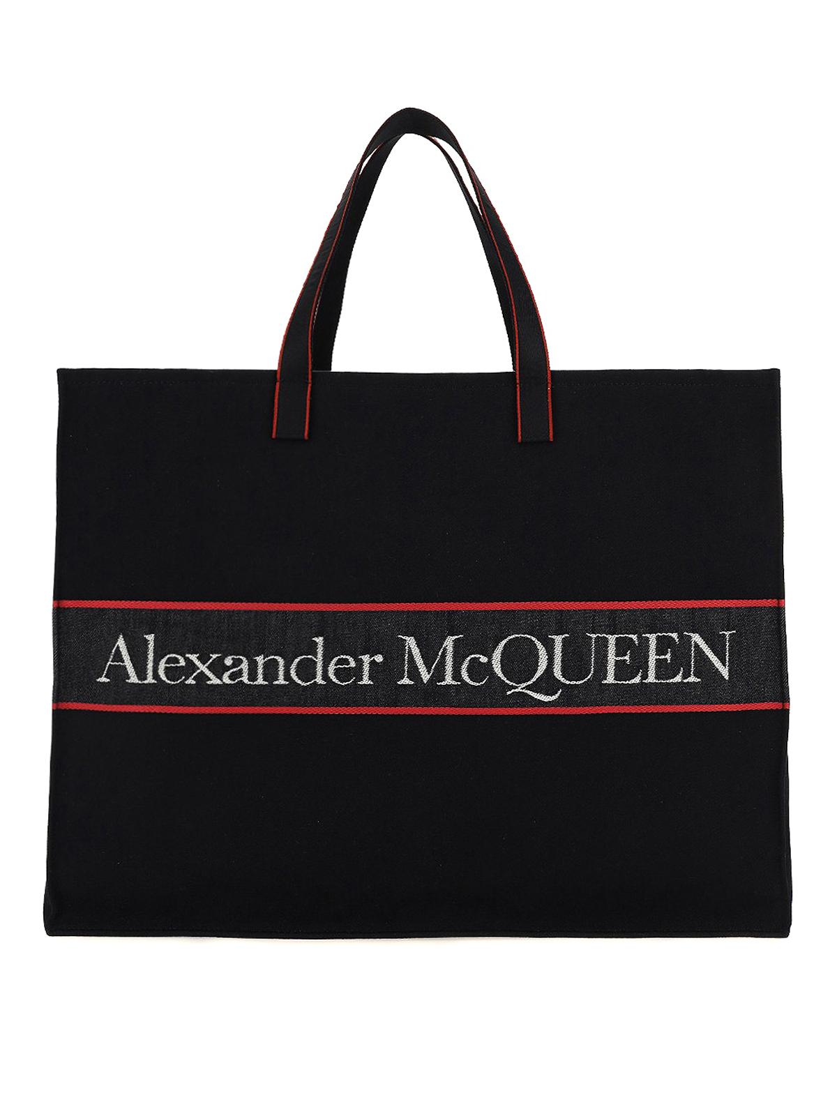 Alexander Mcqueen SELVEDGE E-W TOTE