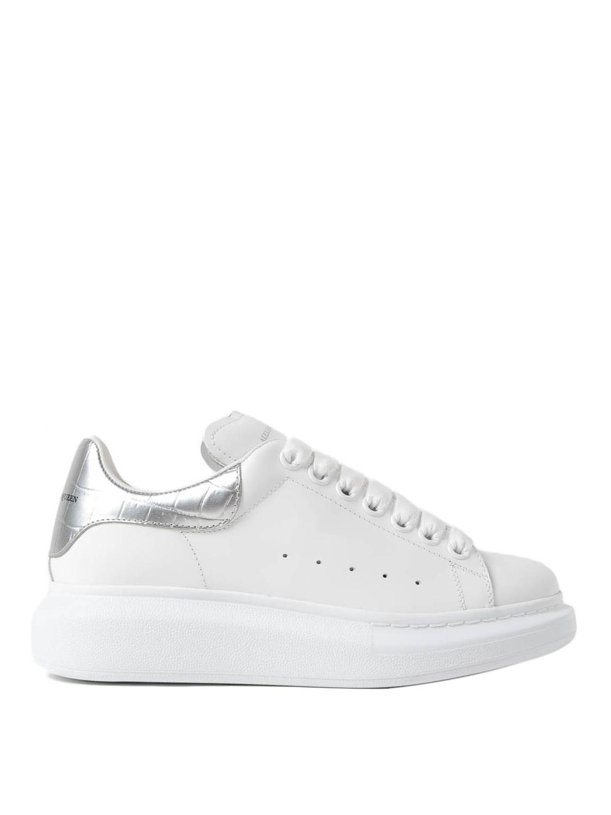 Alexander Mcqueen - Sneaker con talloncino laminato ...
