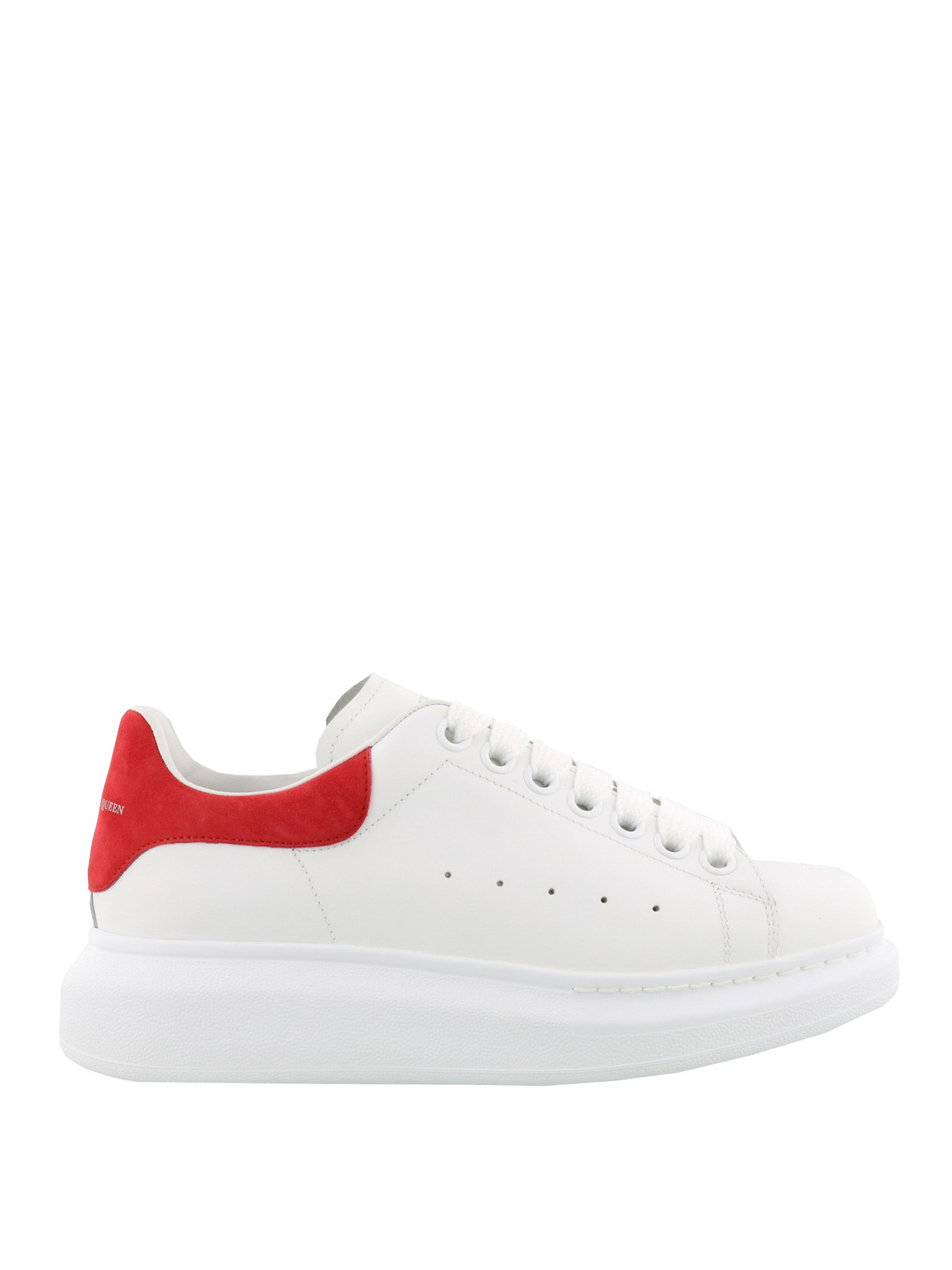 Oversize calf leather sneakers