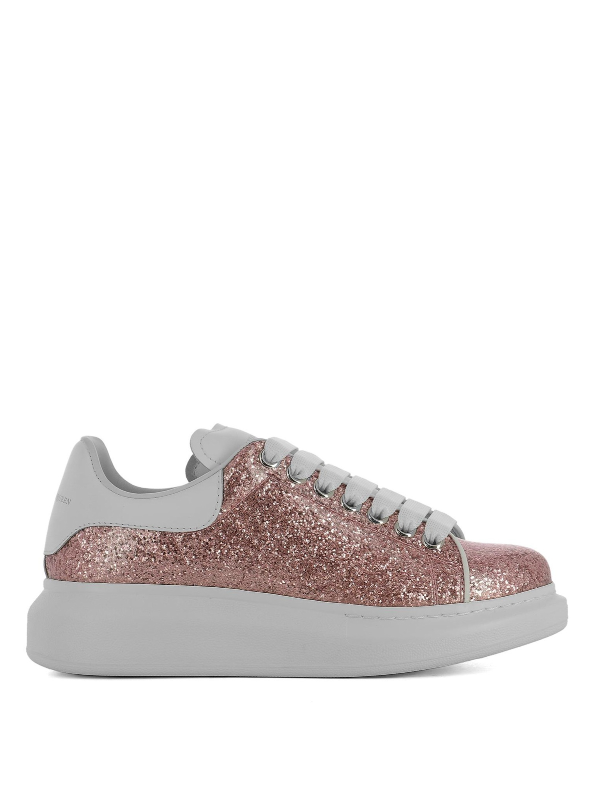 Alexander Mcqueen - Sneaker Oversize in glitter rosa ...