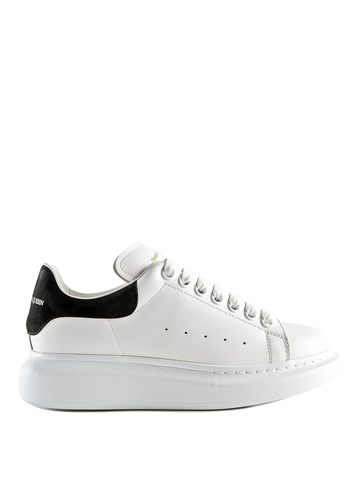 Alexander Mcqueen OVERSIZE SMOOTH LEATHER SNEAKERS
