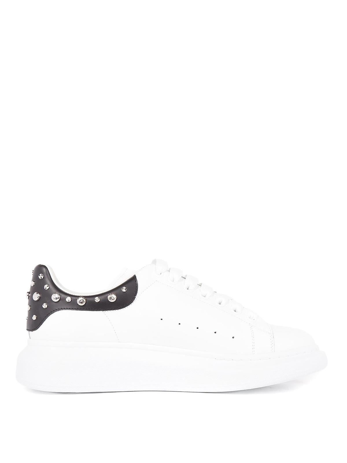 Alexander Mcqueen - Sneaker Oversize bianche e borchie ...