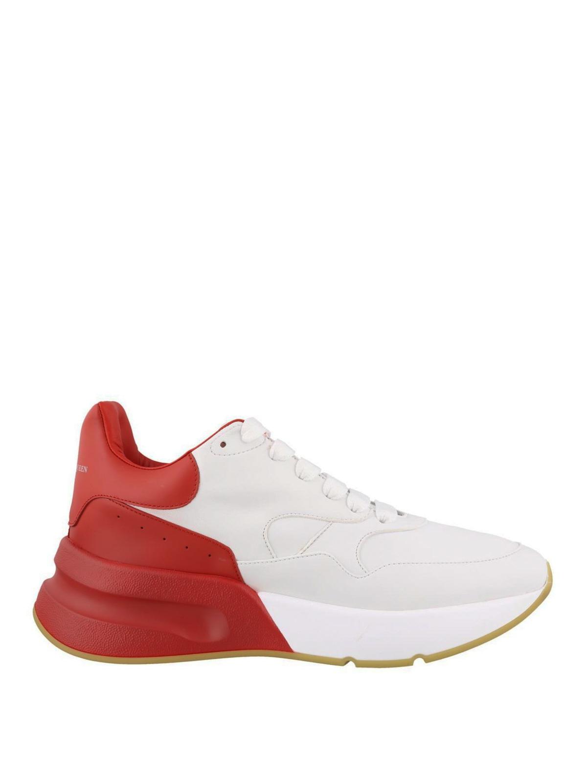 De Chaussures Sport Runner Mcqueen Oversize Alexander Baskets fwqFpSX