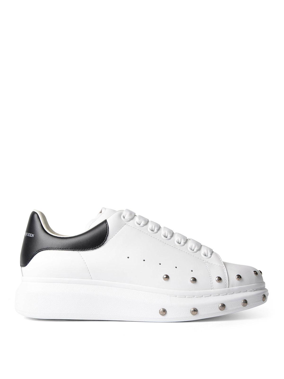 Alexander Mcqueen - Sneaker in pelle con borchie - sneakers ...