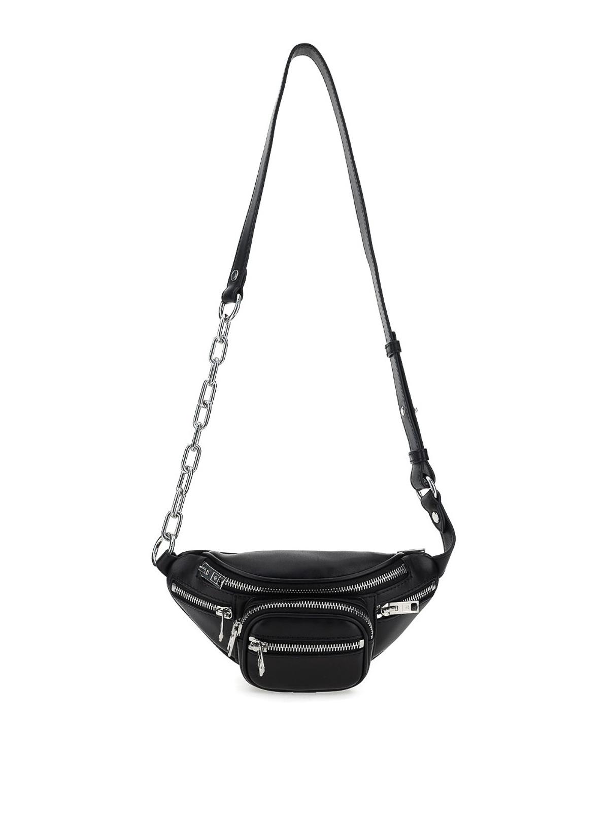 Alexander Wang Attica Mini Belt Bag In Black