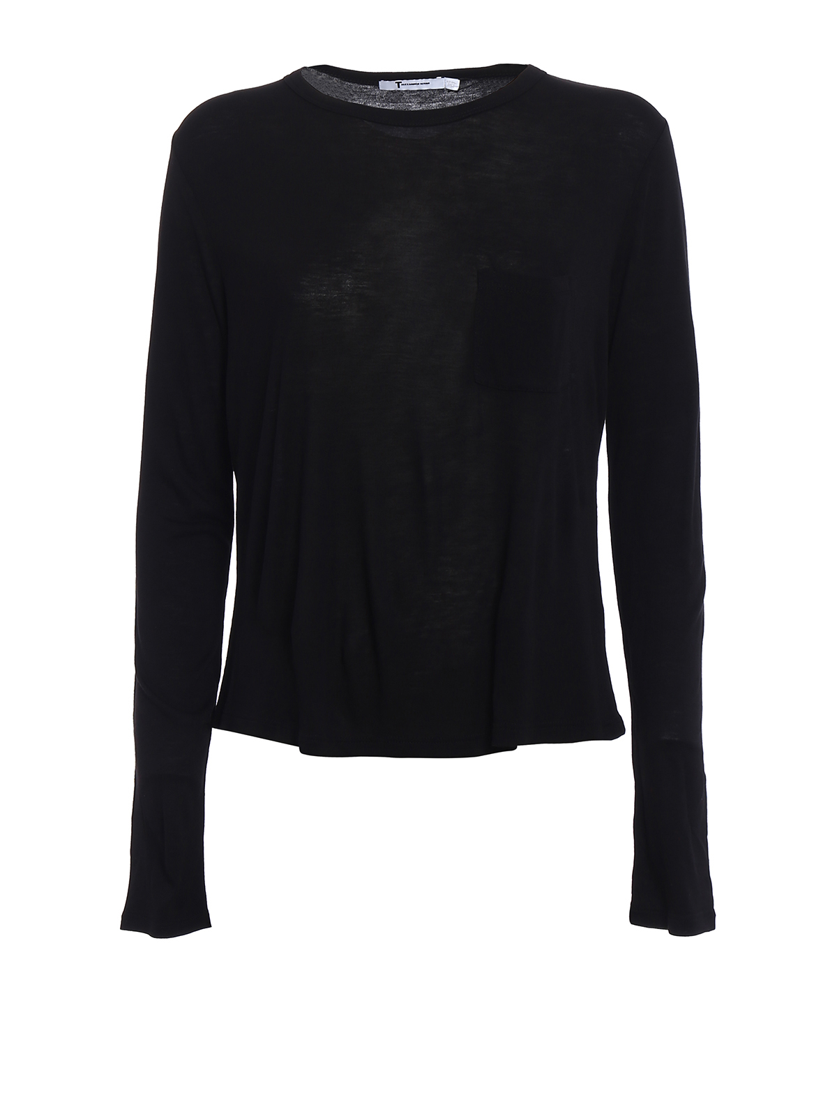 Rayon t shirt with patch pocket by alexander wang t for Alexander wang t shirt