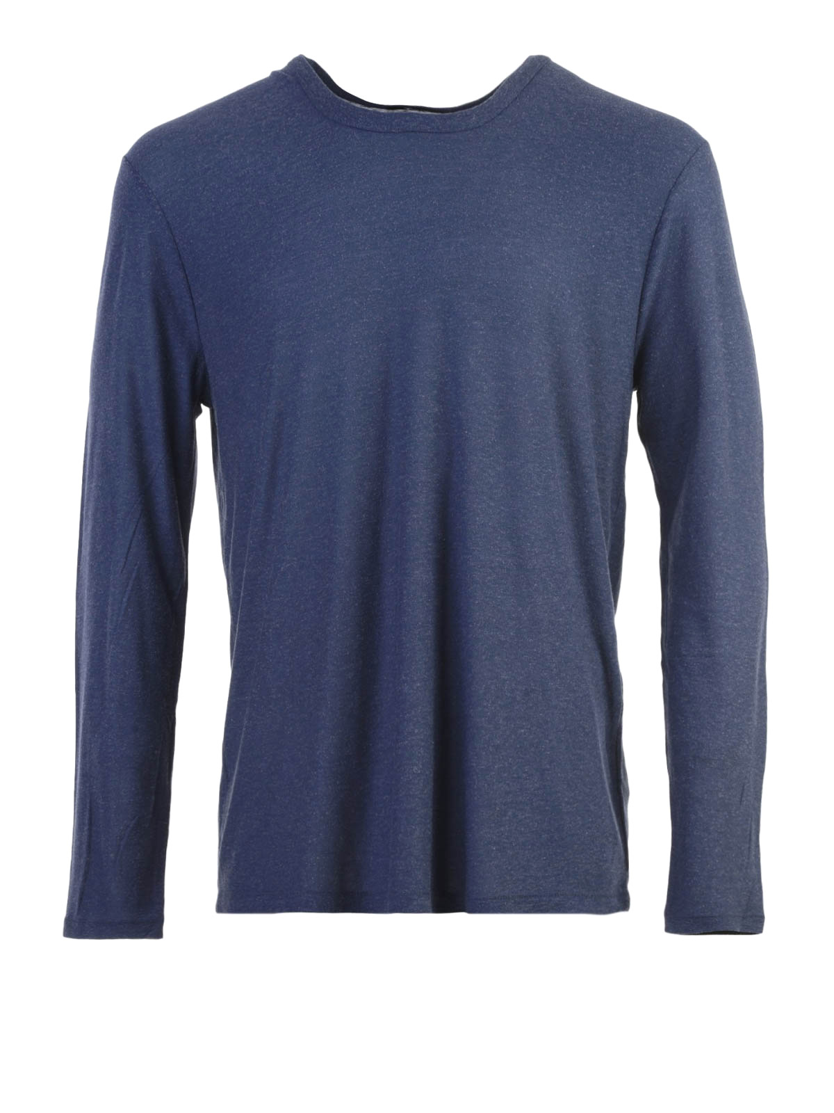 Silk Blend Long Sleeves T Shirt By Alexander Wang T